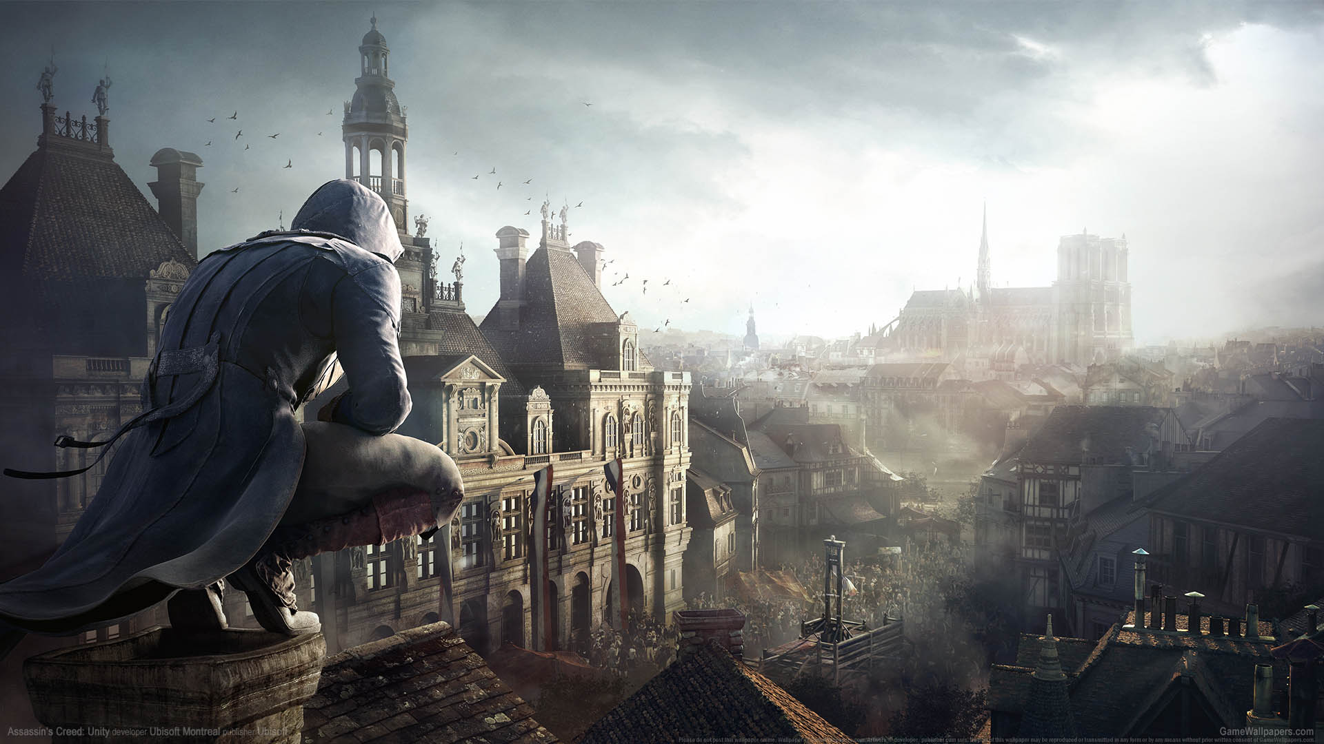 Assassin's Creed: Unity wallpaper 13 1920x1080