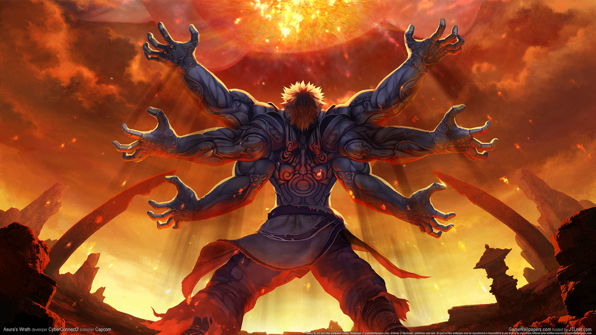 Asura's Wrath wallpaper 02 1920x1080