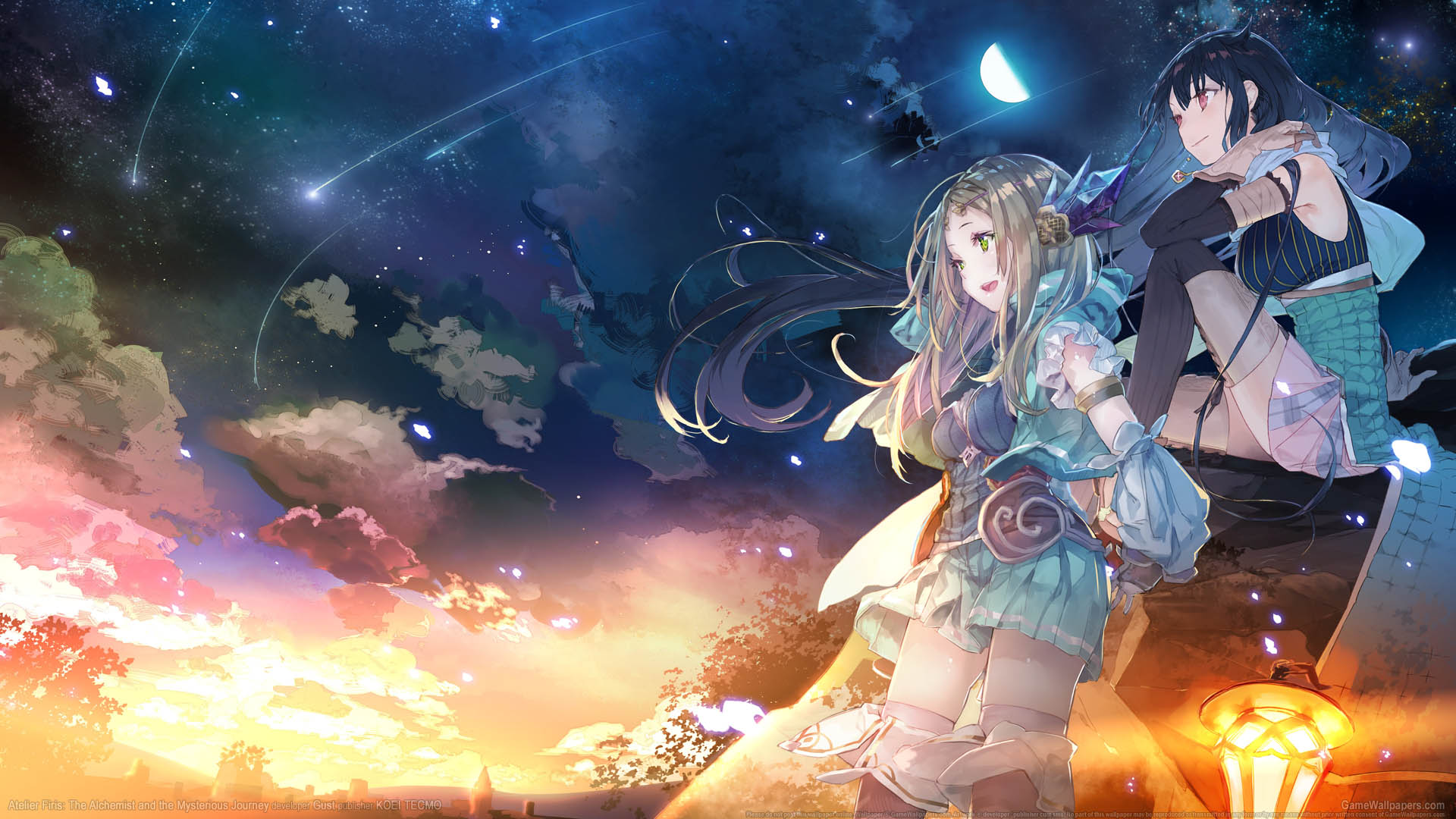 Atelier Firis: The Alchemist and the Mysterious Journey achtergrond 01 1920x1080