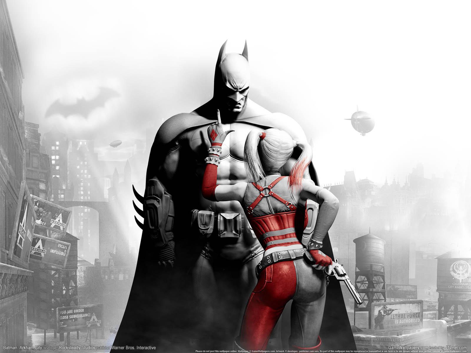 Batman: Arkham Cityνmmer=01 achtergrond  1600x1200