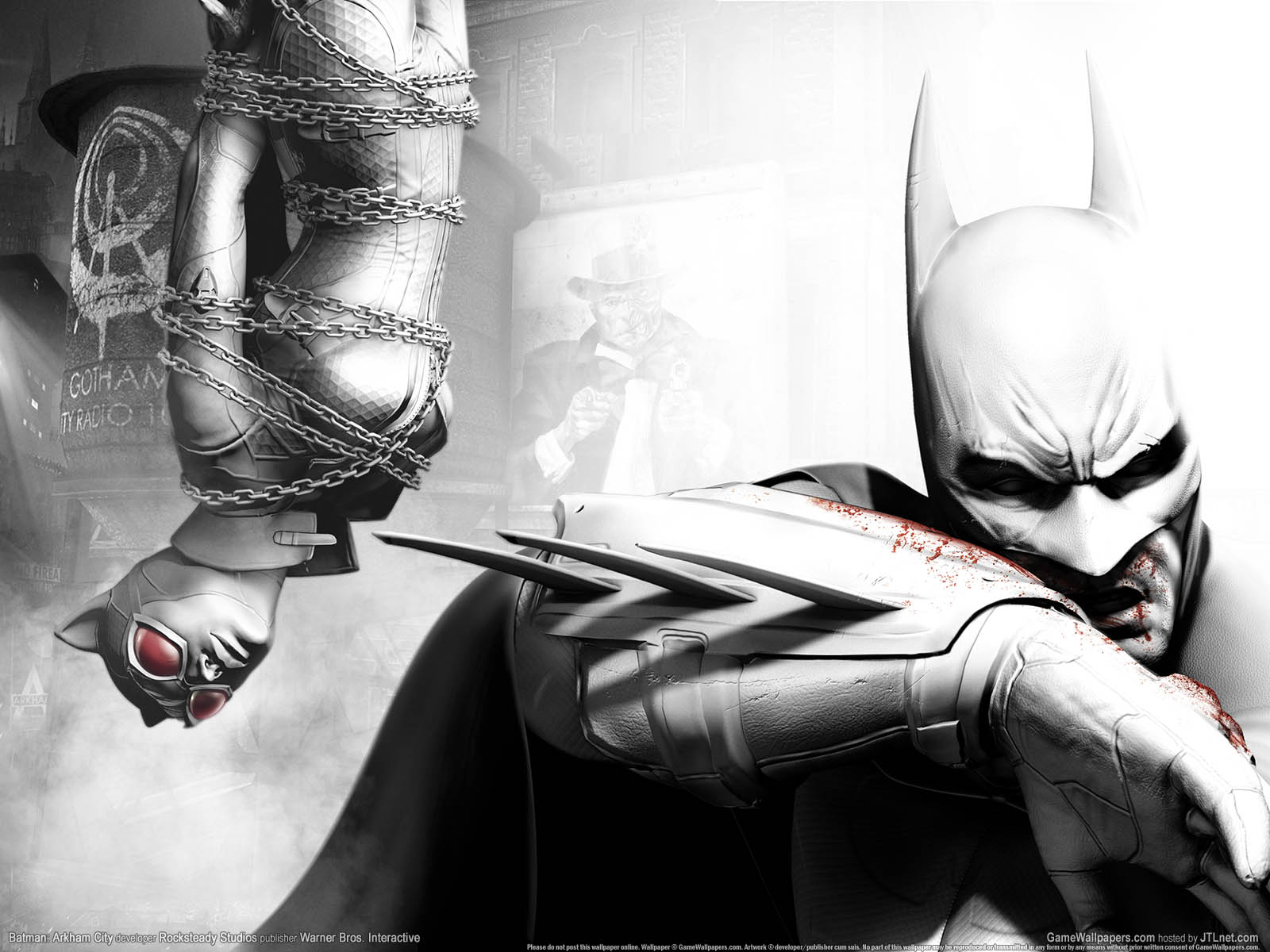 Batman: Arkham Cityνmmer=02 achtergrond  1600x1200