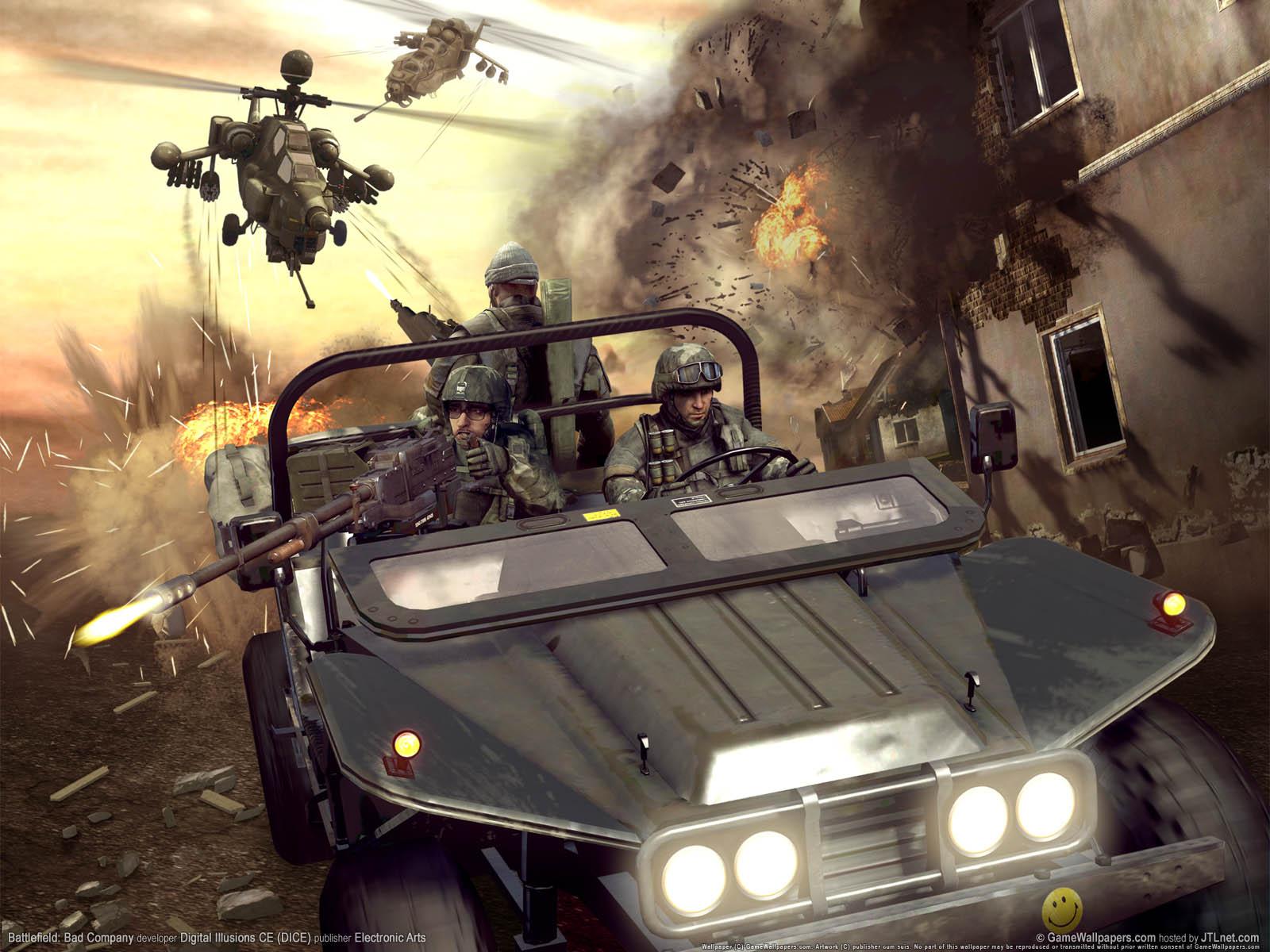 Battlefield: Bad Companyνmmer=01 Hintergrundbild  1600x1200