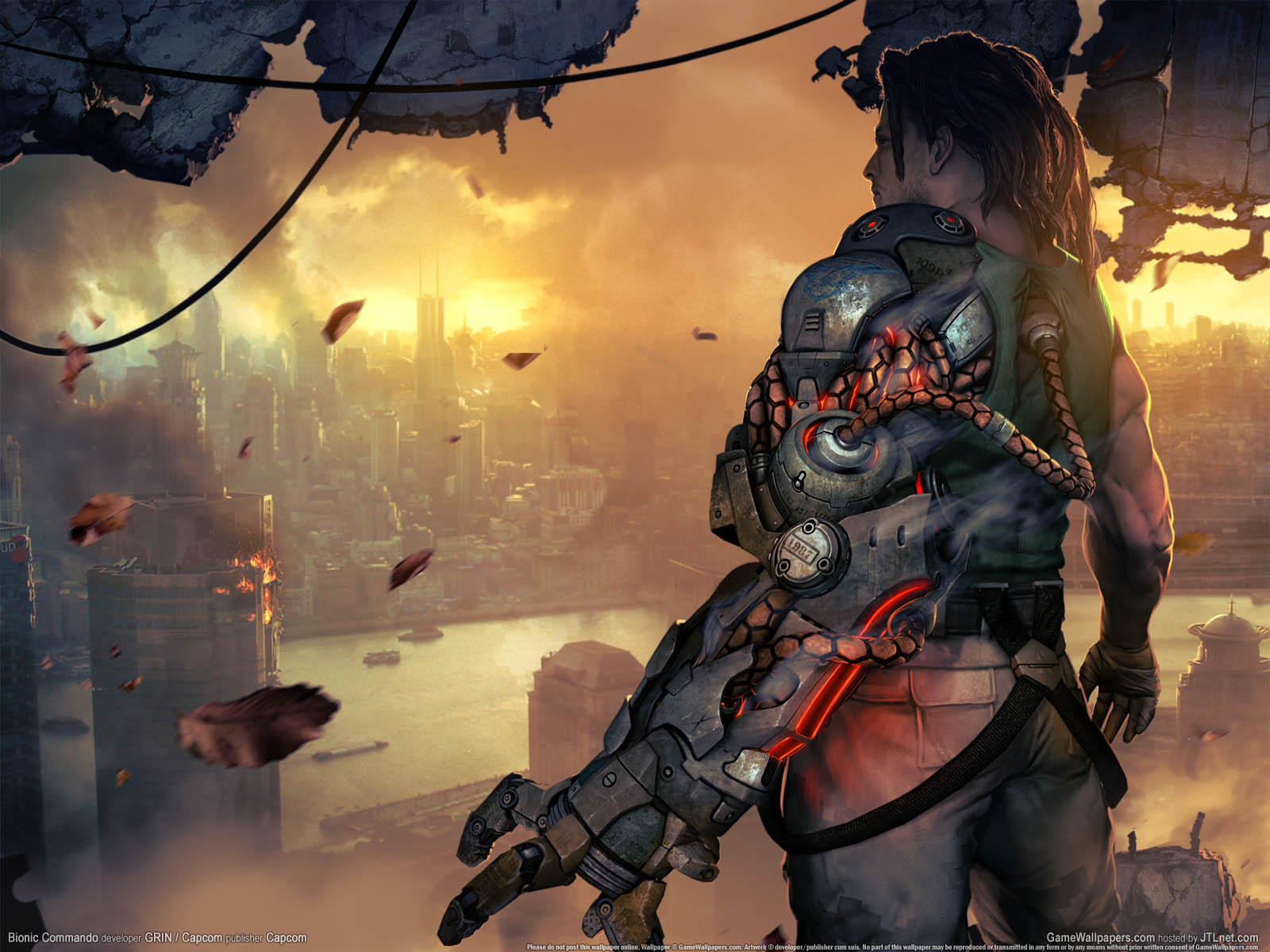 Bionic Commandoνmmer=02 achtergrond  1600x1200