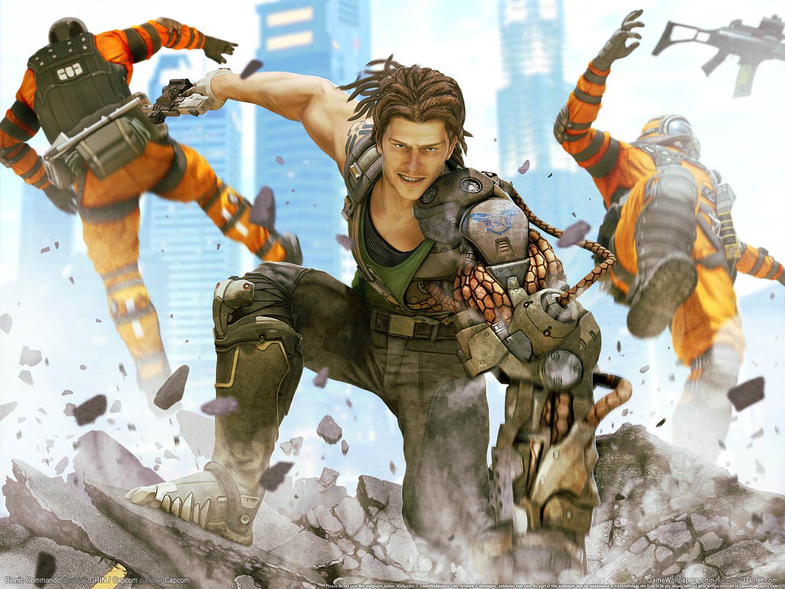 Bionic Commandoνmmer=04 achtergrond  1600x1200