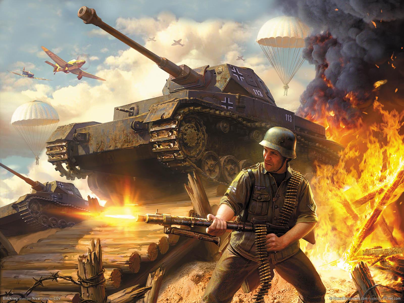 Blitzkrieg wallpaper 01 1600x1200