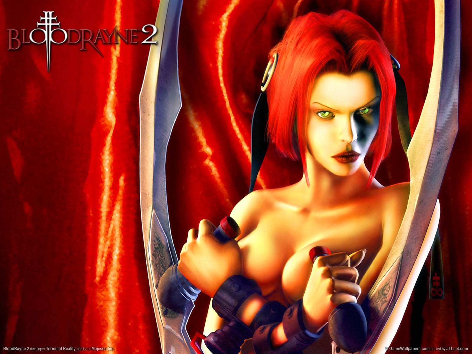 BloodRayne 2 wallpaper 01 1600x1200
