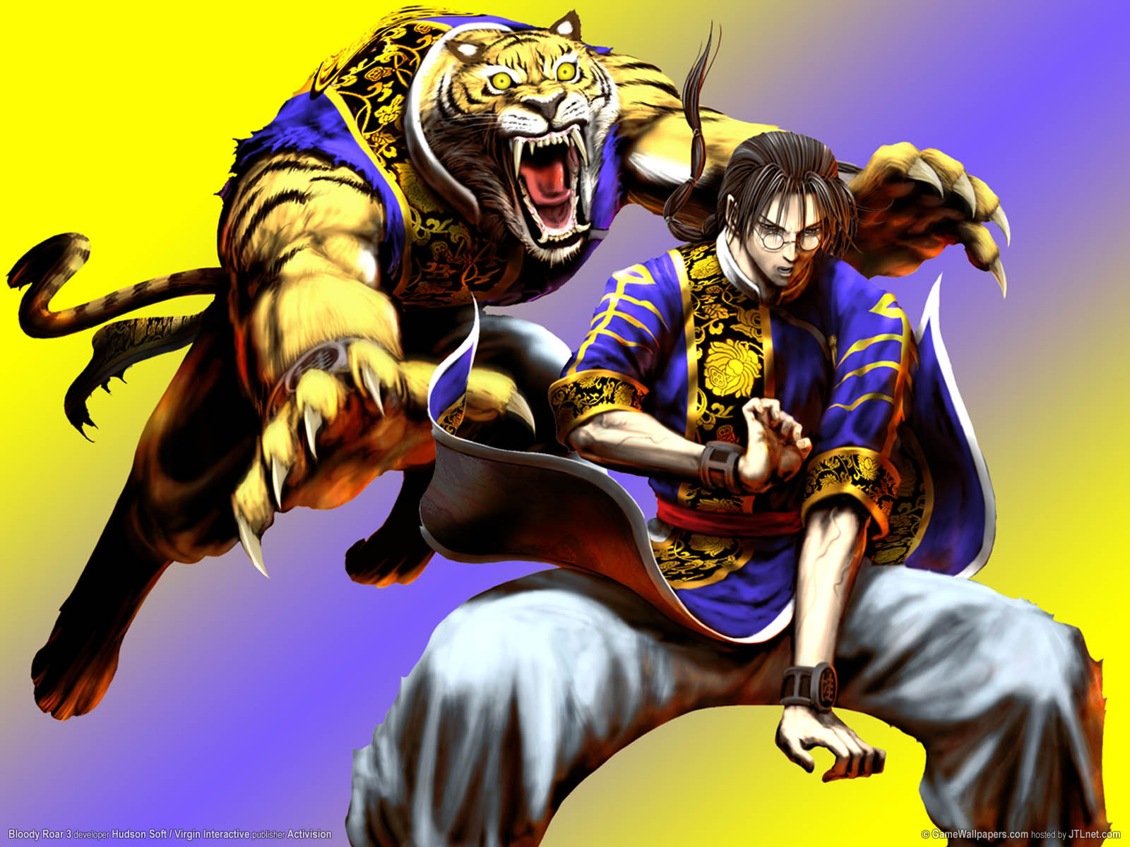 Bloody Roar 3 wallpaper 02 1600x1200