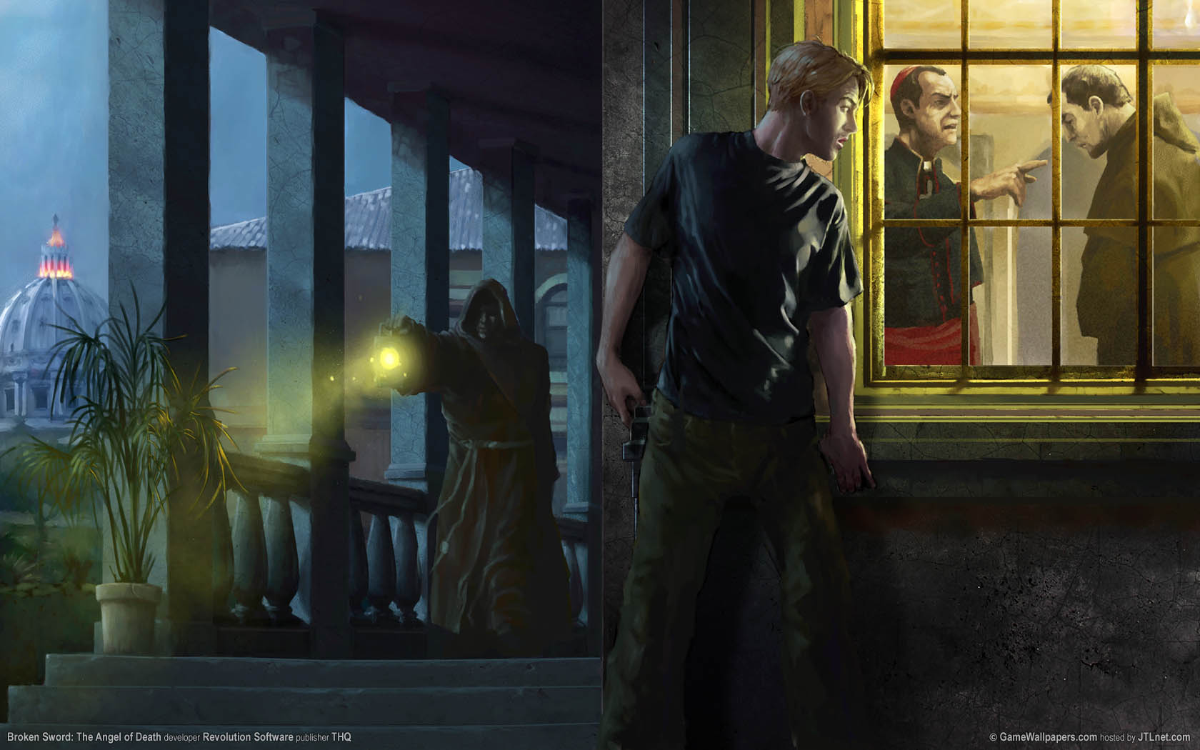 Broken Sword: The Angel of Death Hintergrundbild 02 1680x1050