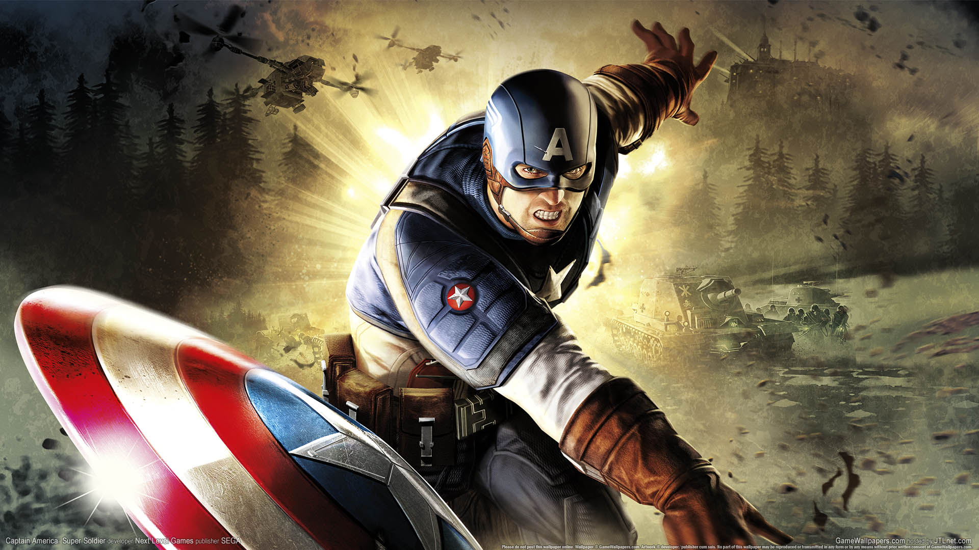 Captain America: Super Soldier Hintergrundbild 01 1920x1080