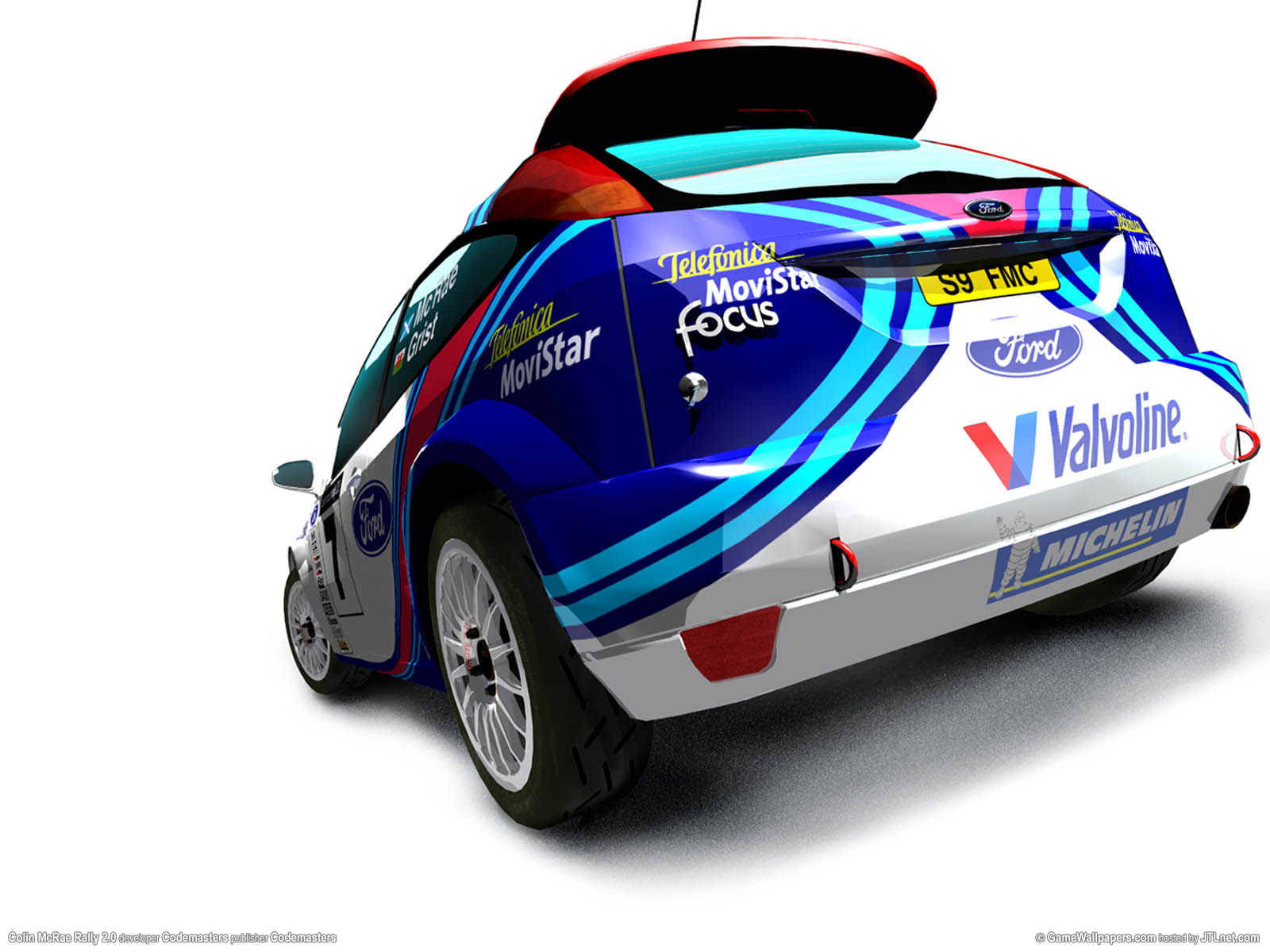Colin McRae Rally 2.0νmmer=09 achtergrond  1600x1200
