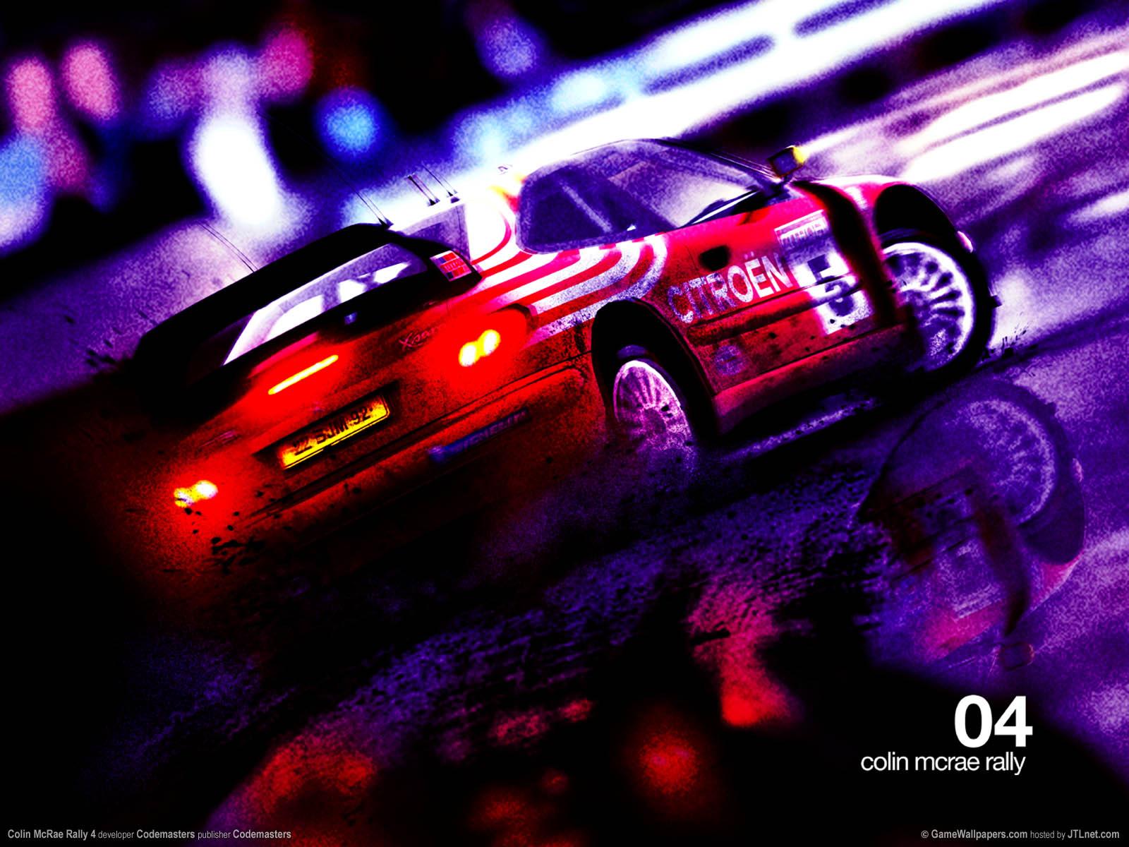 Colin McRae Rally 4 Hintergrundbild 02 1600x1200
