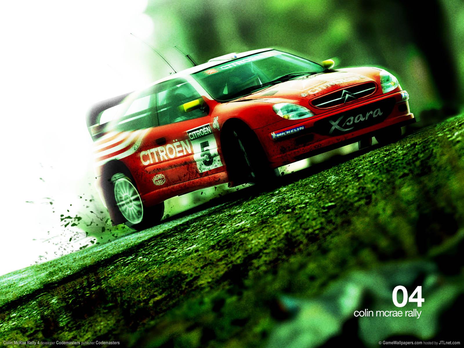 Colin McRae Rally 4 Hintergrundbild 03 1600x1200