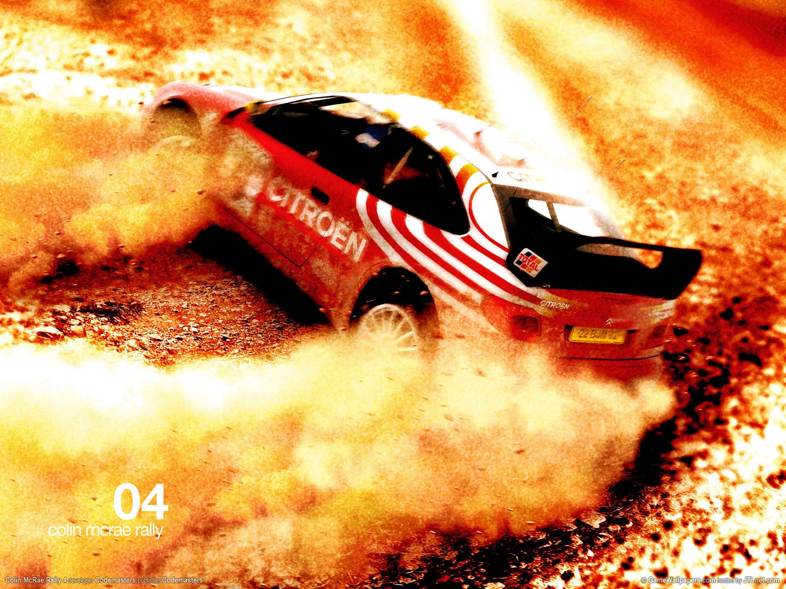 Colin McRae Rally 4 Hintergrundbild 04 1600x1200