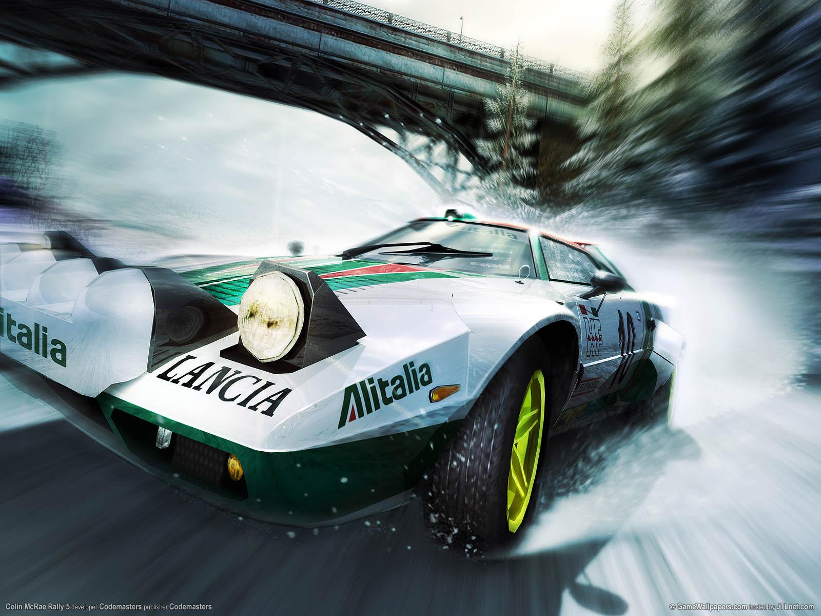Colin McRae Rally 5 fondo de escritorio 01 1600x1200