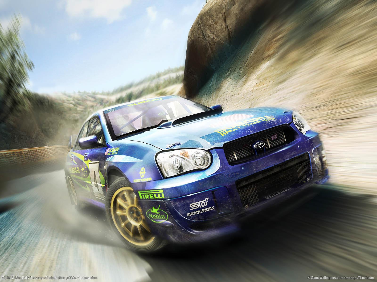 Colin McRae Rally 5 wallpaper 02 1600x1200