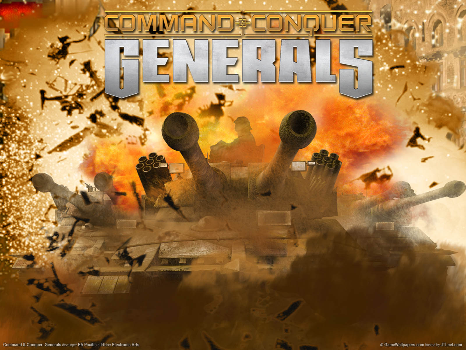 Command and Conquer: Generalsνmmer=01 achtergrond  1600x1200