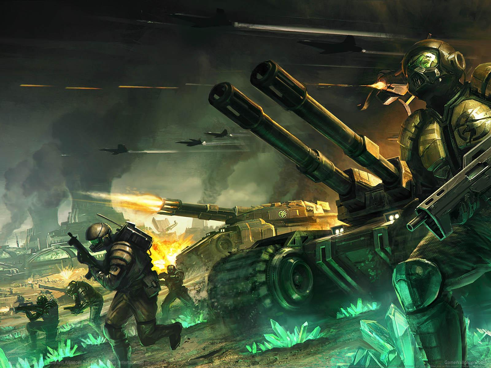 Command & Conquer: Tiberium Alliancesνmmer=01 achtergrond  1600x1200