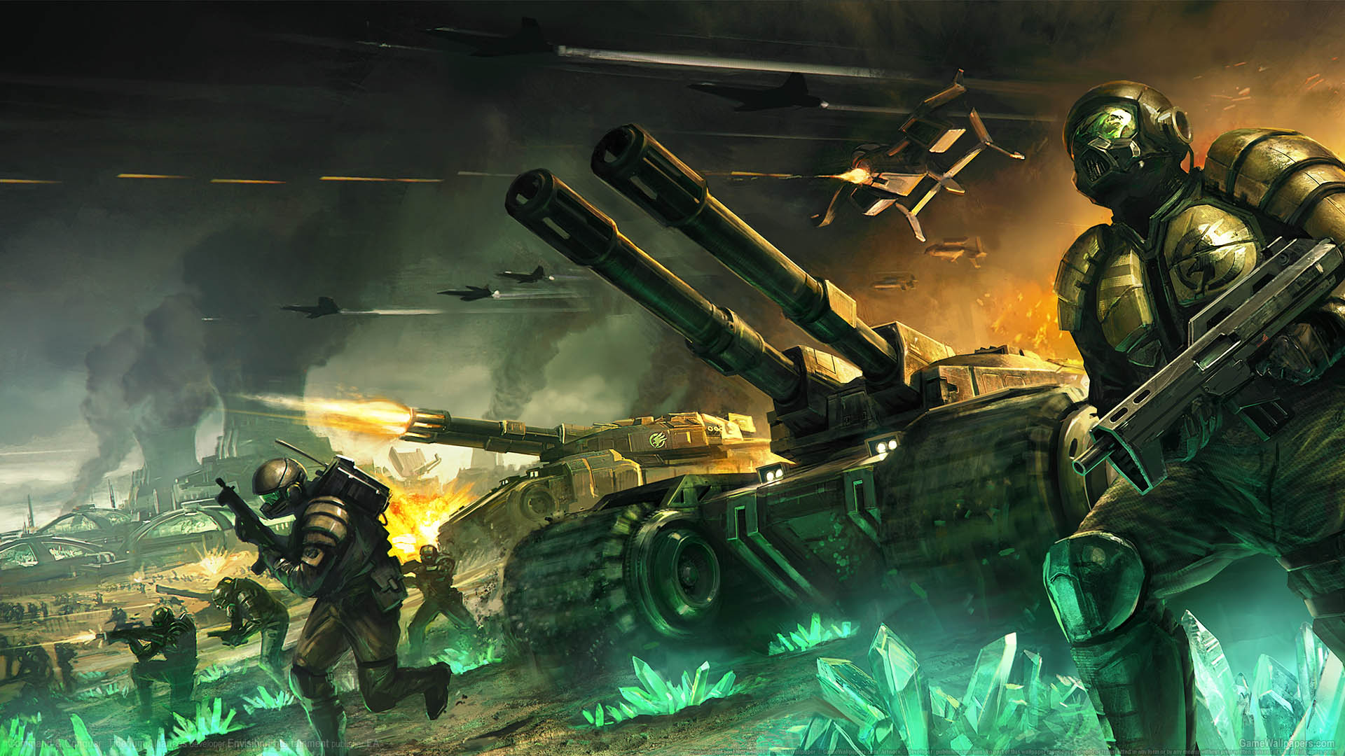 Command & Conquer: Tiberium Alliances fondo de escritorio 01 1920x1080