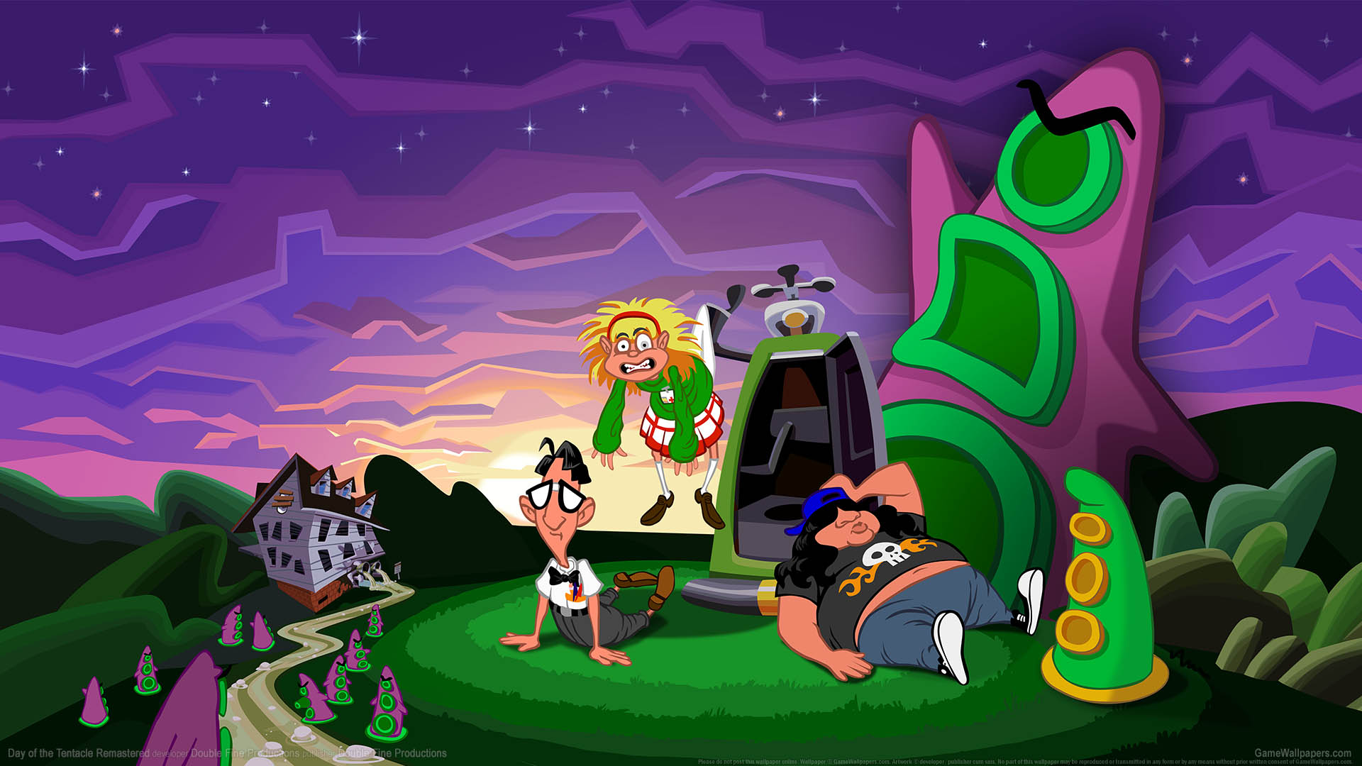 Day of the Tentacle Remastered wallpaper 01 1920x1080