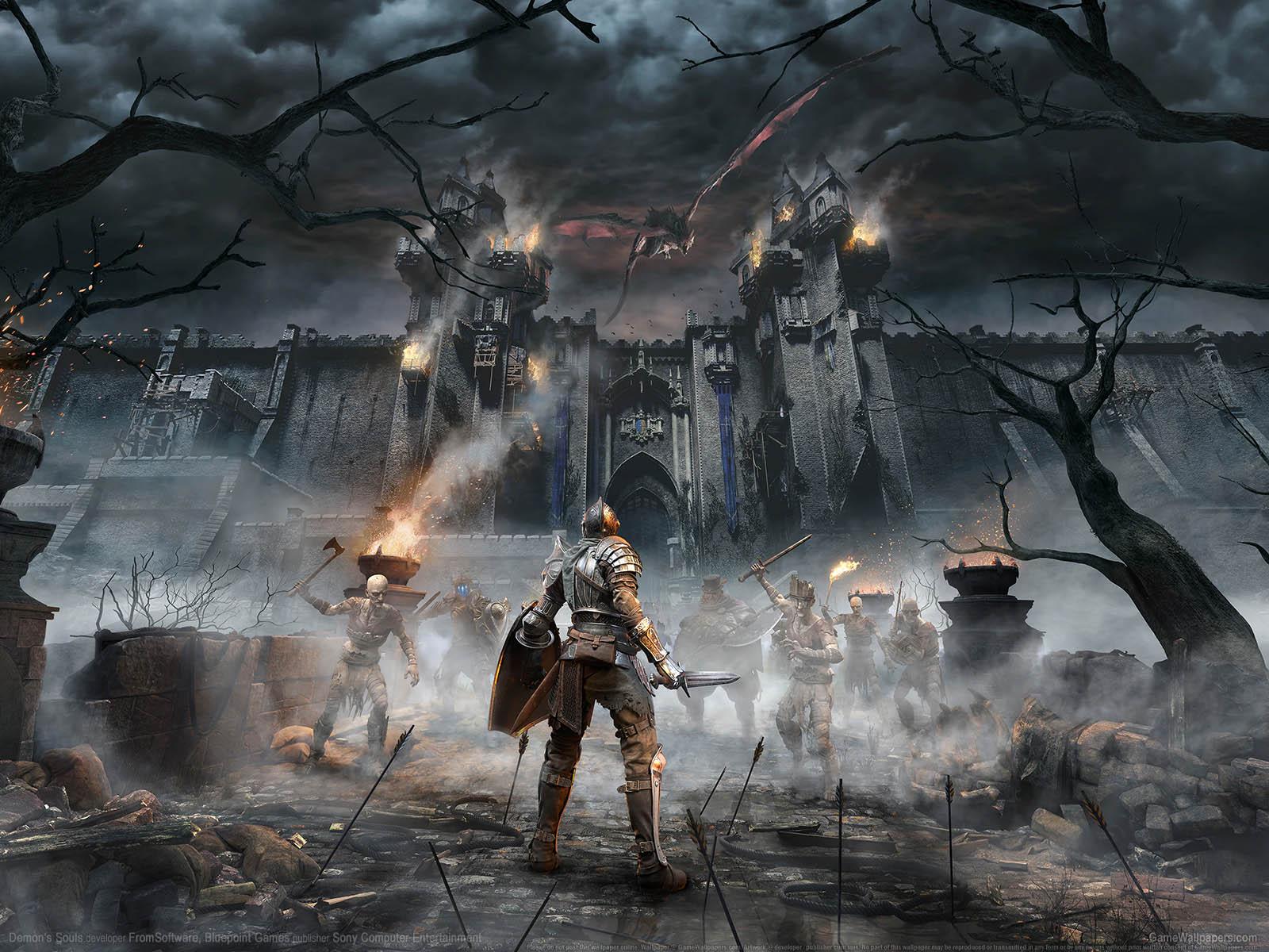 Demon's Souls 2020 achtergrond 01 1600x1200