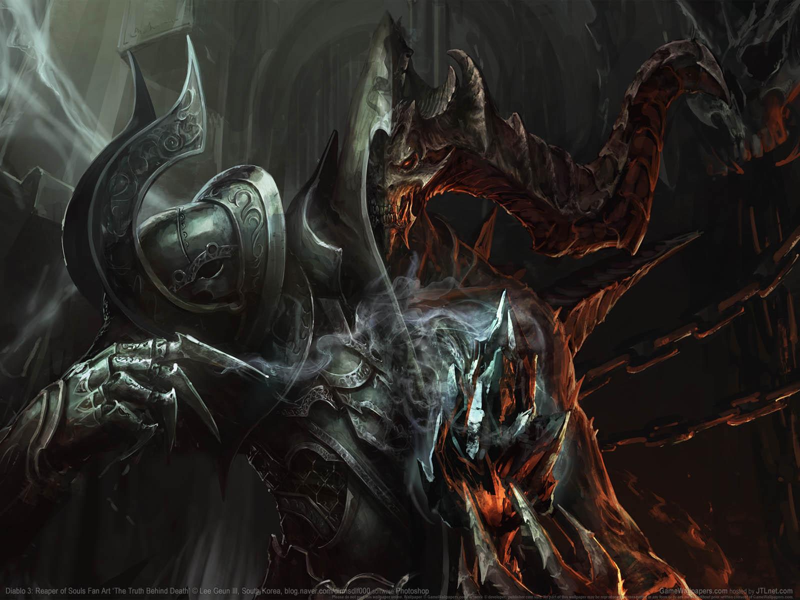 Diablo 3: Reaper of Souls Fan Artνmmer=02 achtergrond  1600x1200