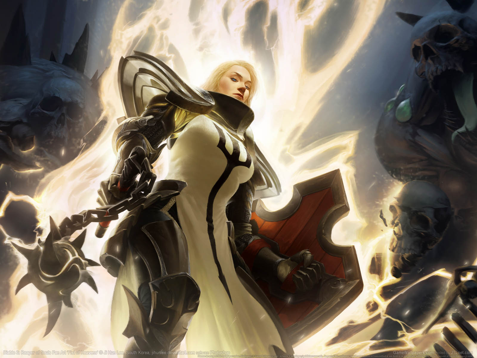 Diablo 3 Reaper Of Souls Wallpapers: Diablo 3%3A Reaper Of Souls Fan Art Wallpaper 08 1600x1200