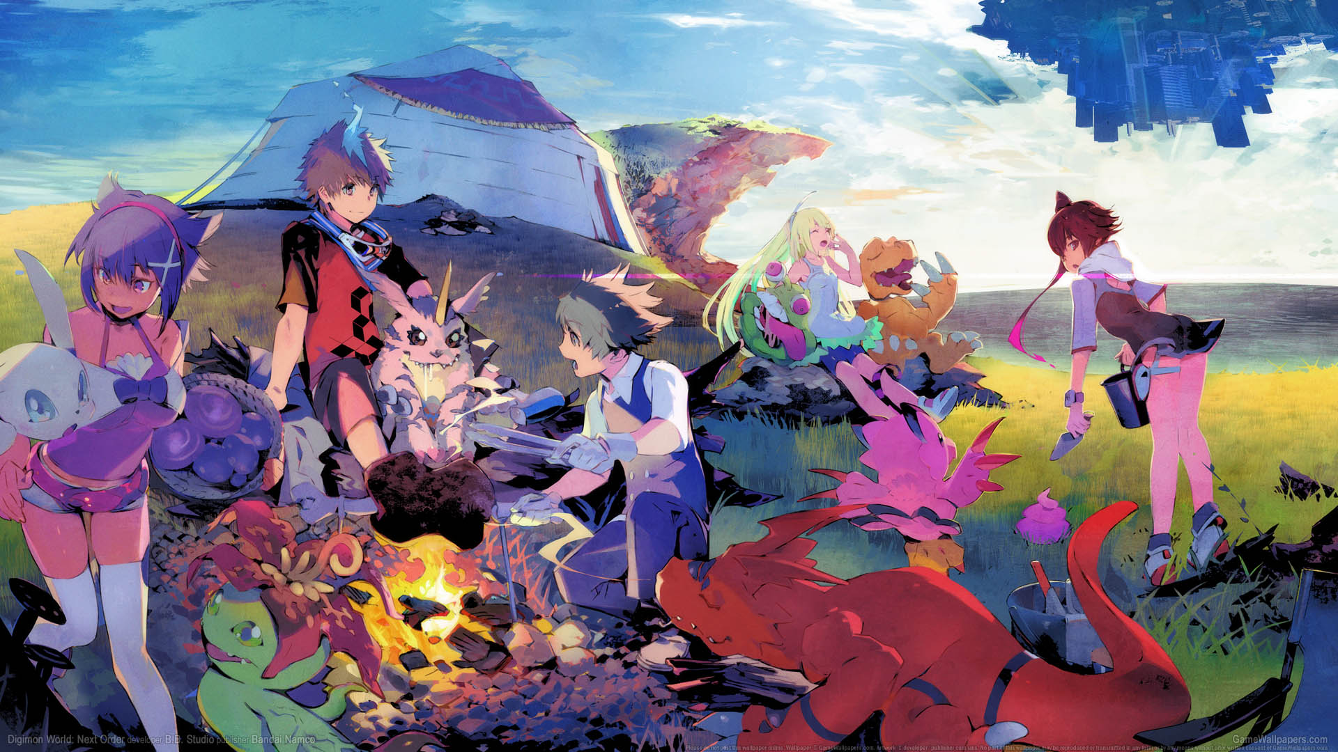 Digimon World: Next Order wallpaper 01 1920x1080
