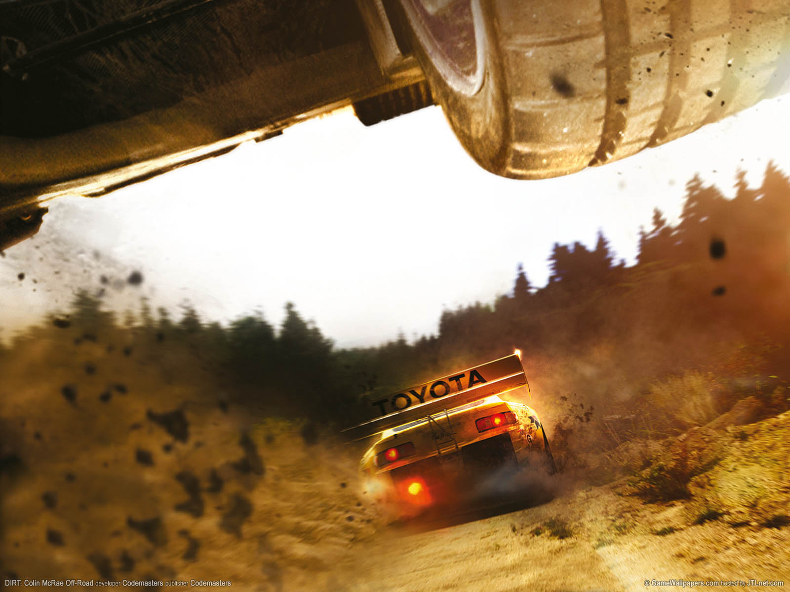 DIRT: Colin McRae Off-Roadνmmer=01 Hintergrundbild  1600x1200