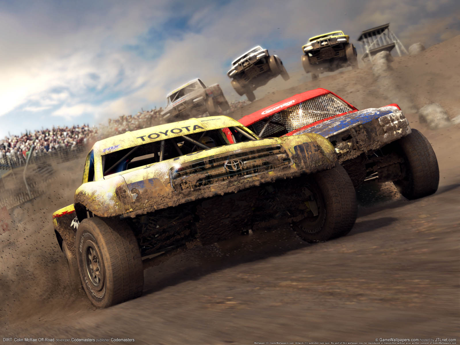 DIRT: Colin McRae Off-Roadνmmer=02 Hintergrundbild  1600x1200