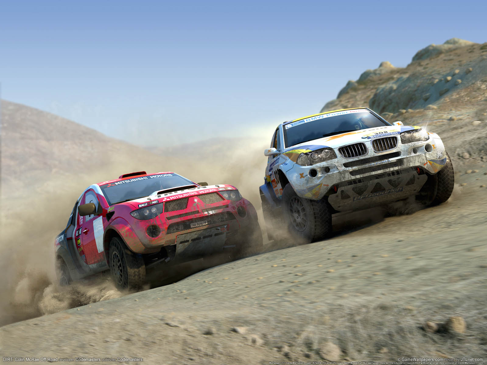 DIRT: Colin McRae Off-Roadνmmer=03 Hintergrundbild  1600x1200