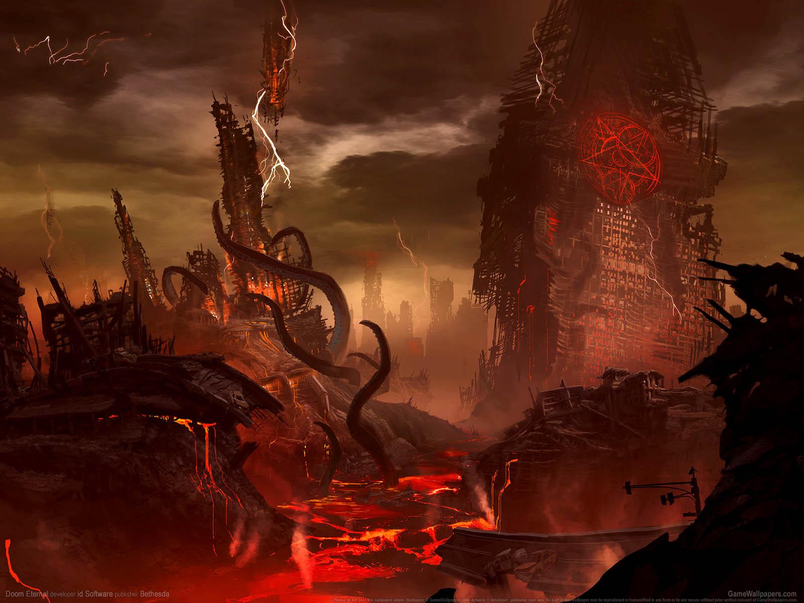 Doom Eternalνmmer=01 Hintergrundbild  1600x1200