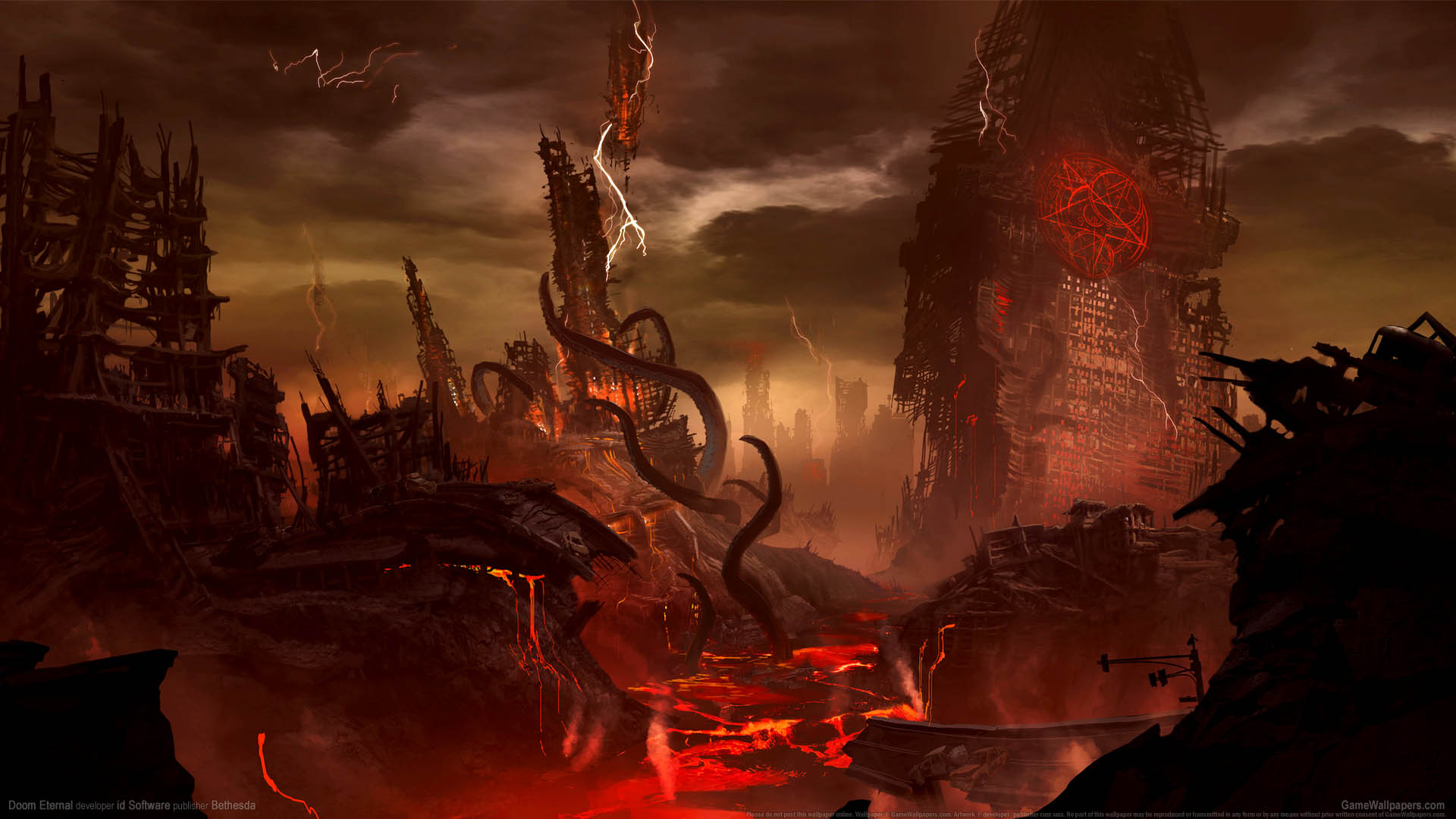Doom Eternal fondo de escritorio 01 1920x1080