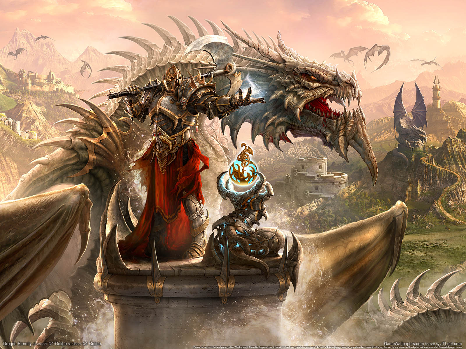 Dragon Eternityνmmer=01 Hintergrundbild  1600x1200