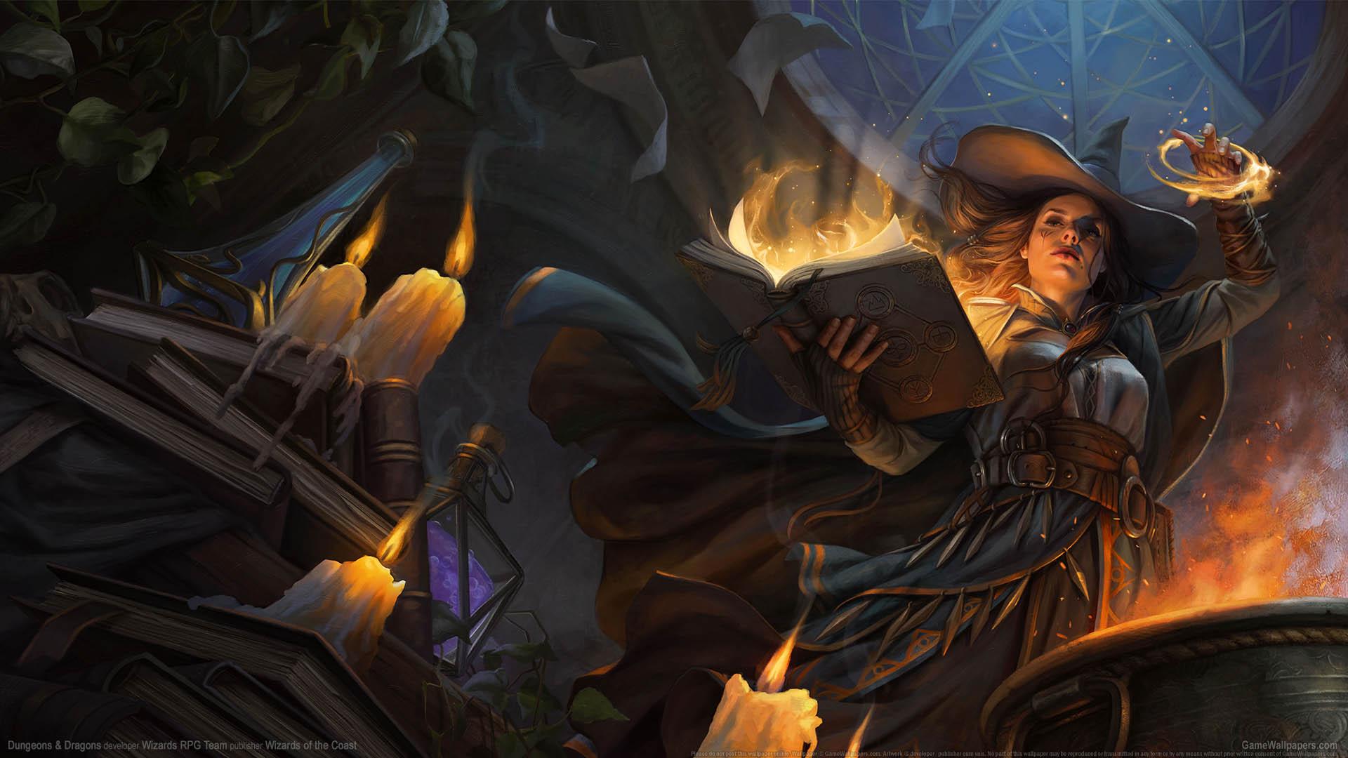 Dungeons & Dragons achtergrond 01 1920x1080