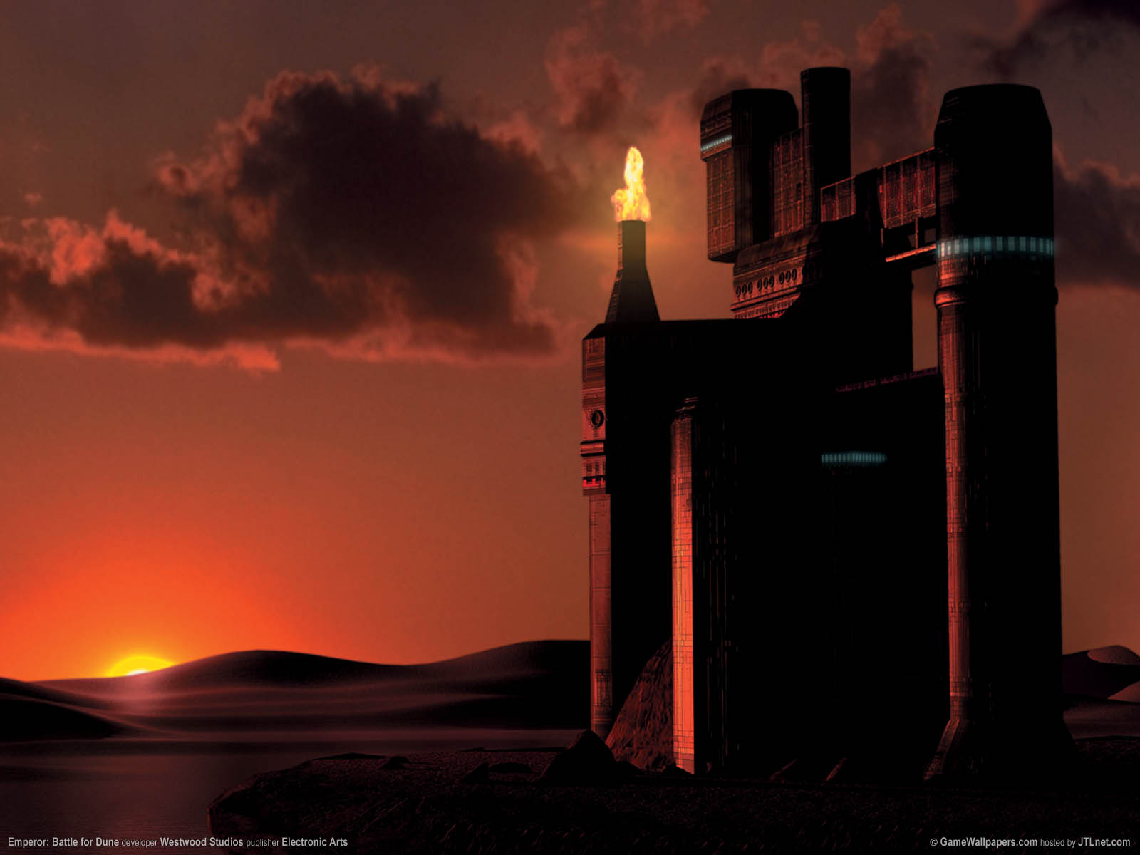 Emperor: Battle for Dune wallpaper 01 1600x1200