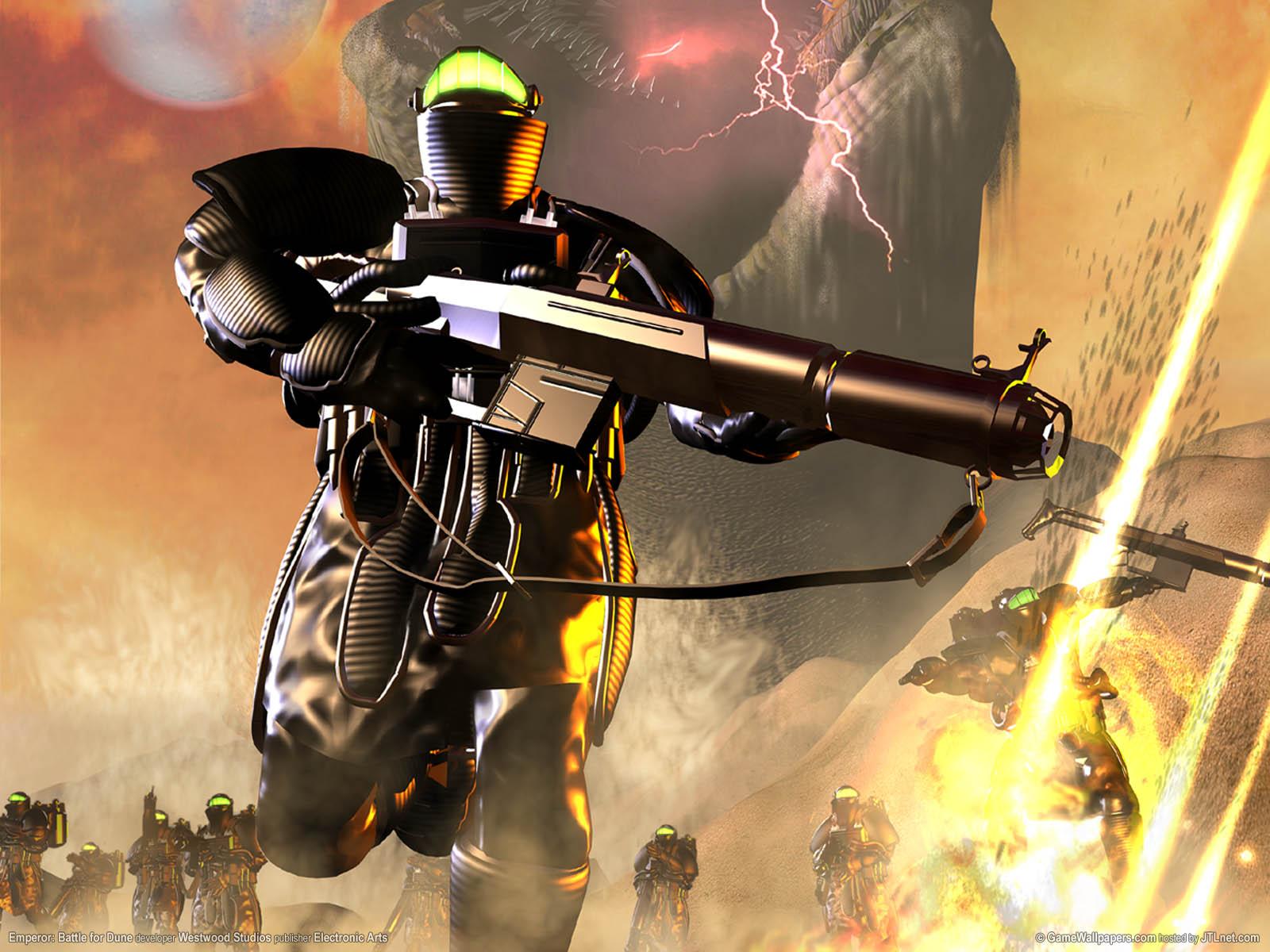 Emperor: Battle for Dune wallpaper 04 1600x1200