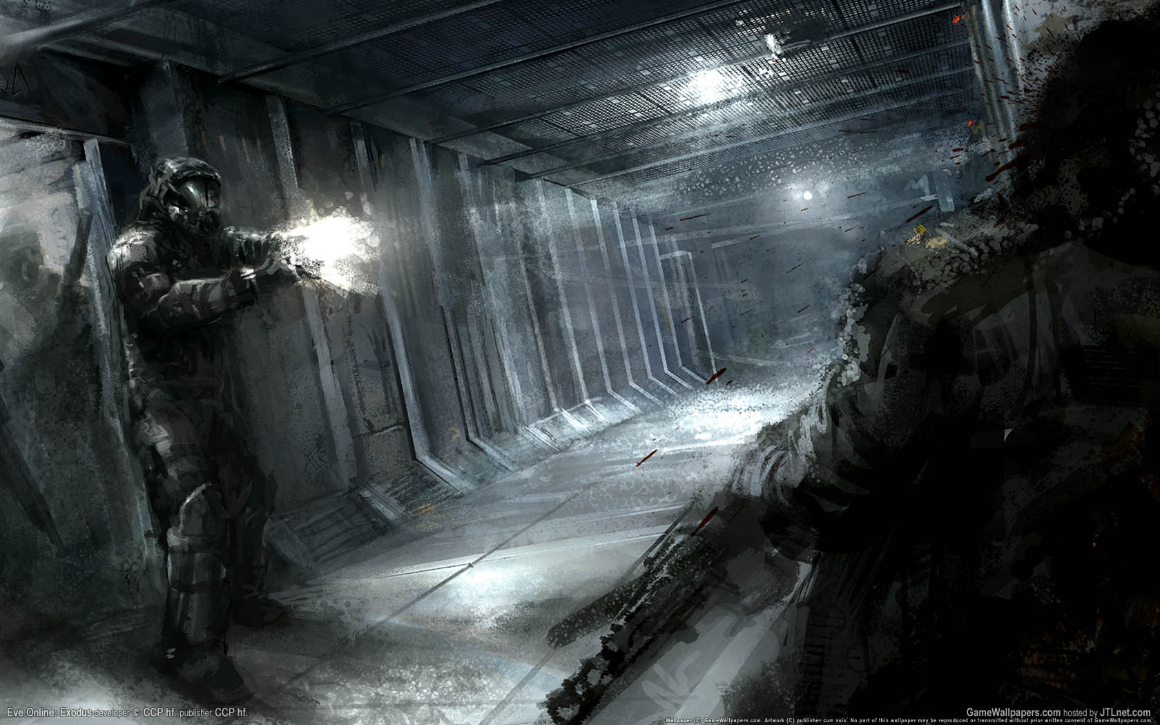 Eve Online: Exodus fondo de escritorio 01 1680x1050