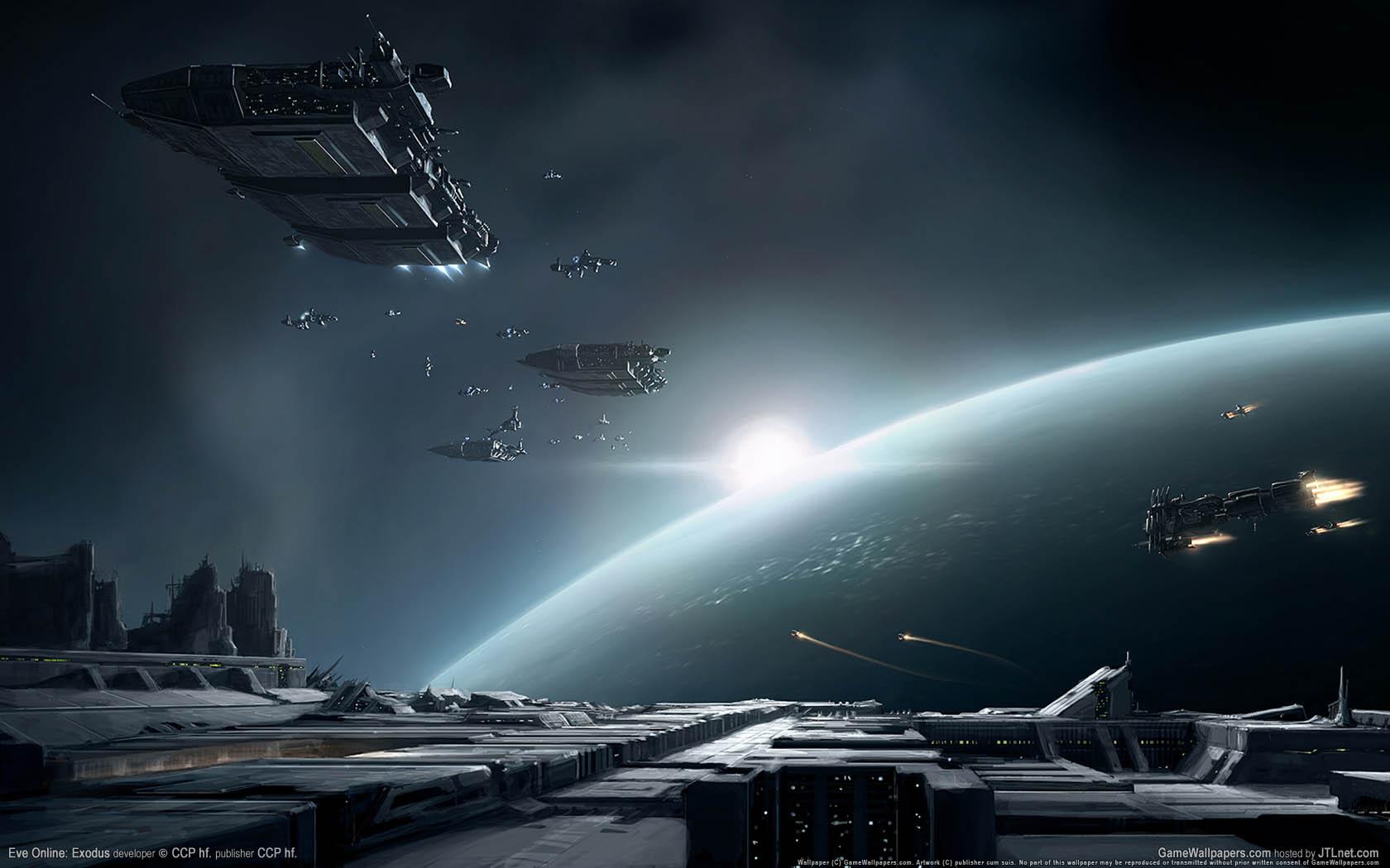 Eve Online: Exodus fondo de escritorio 02 1680x1050