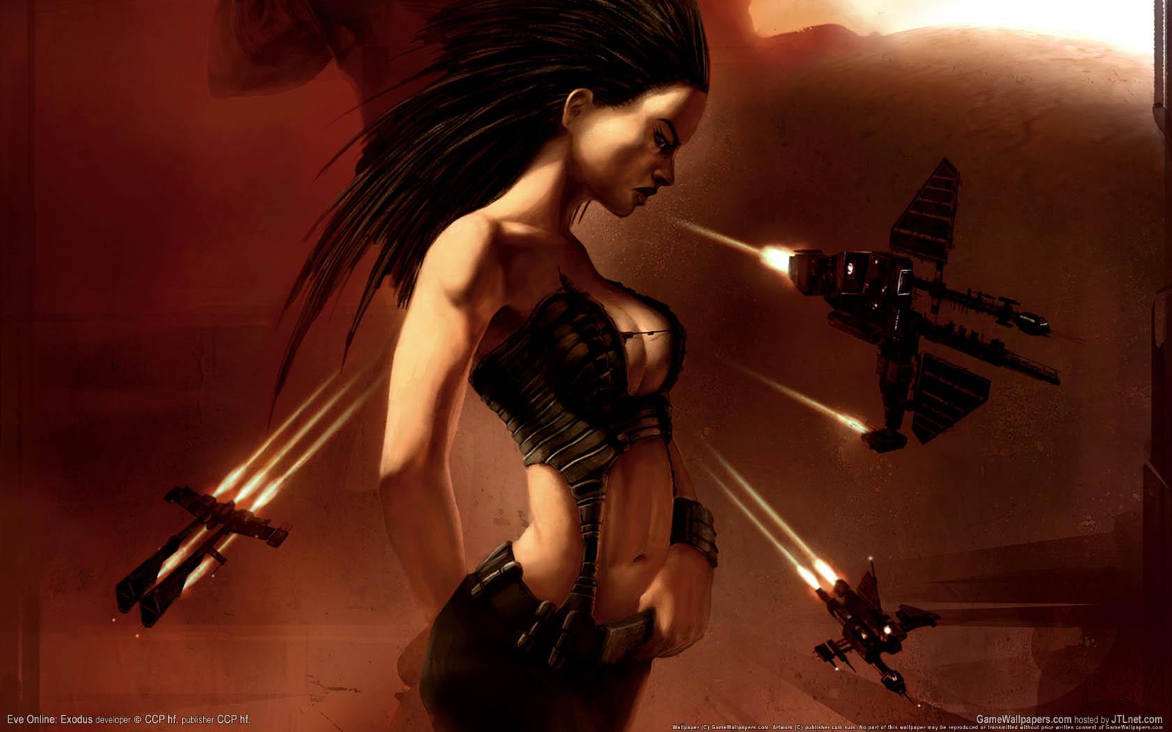 Eve Online: Exodus fondo de escritorio 04 1680x1050