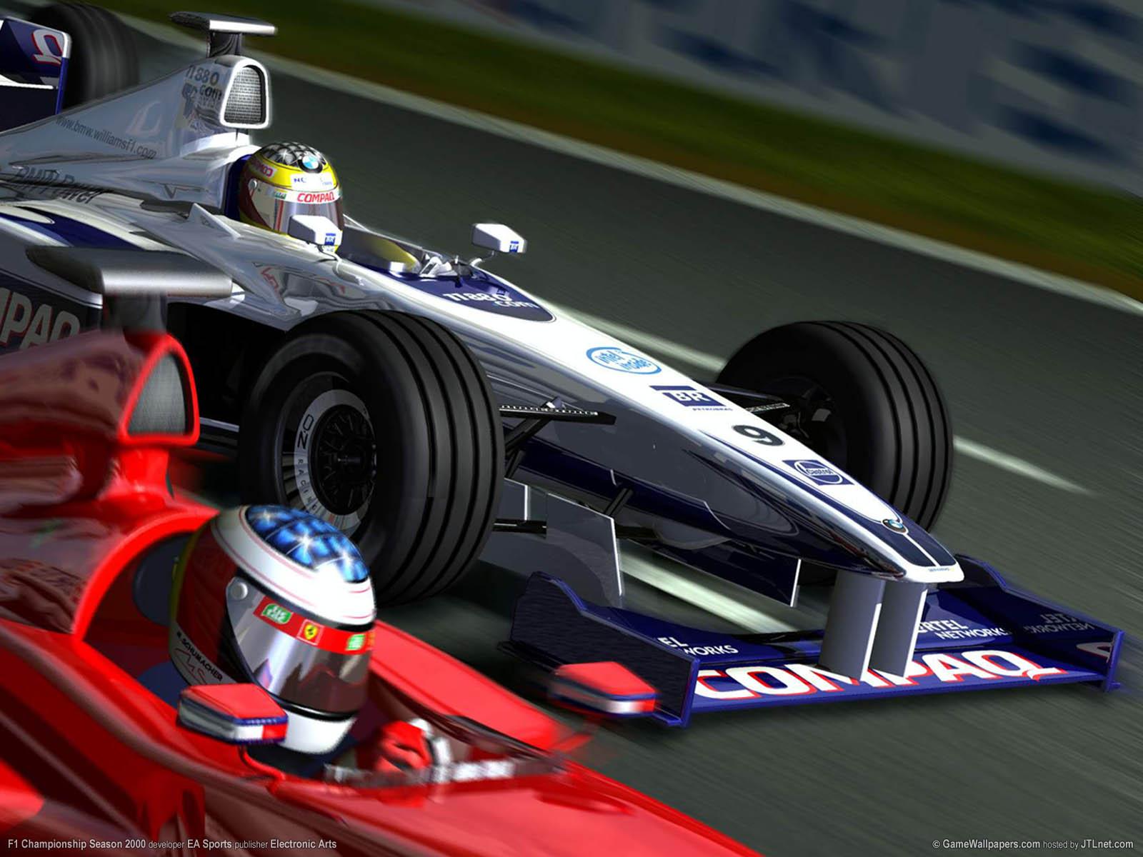 F1 Championship Season 2000 fond d'écran 01 1600x1200