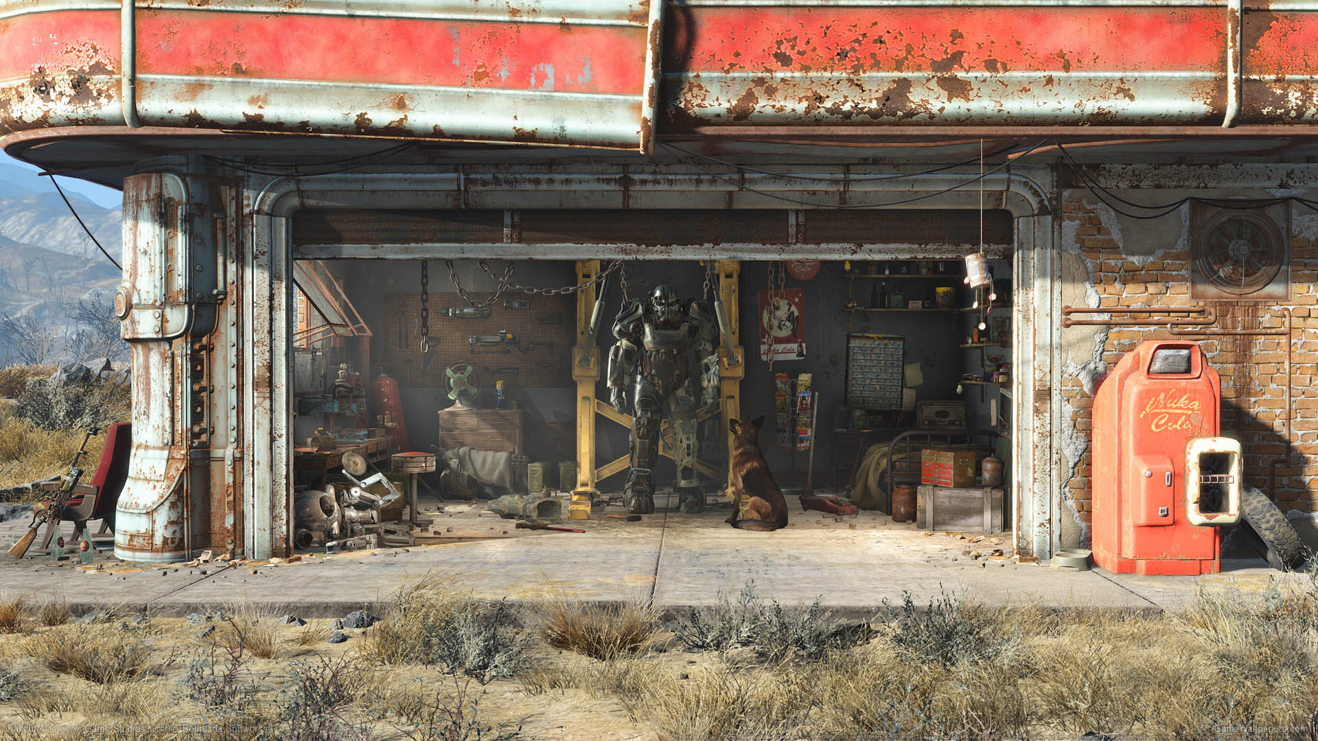 fallout 4 wallpaper or background fallout 4 wallpaper or background 01