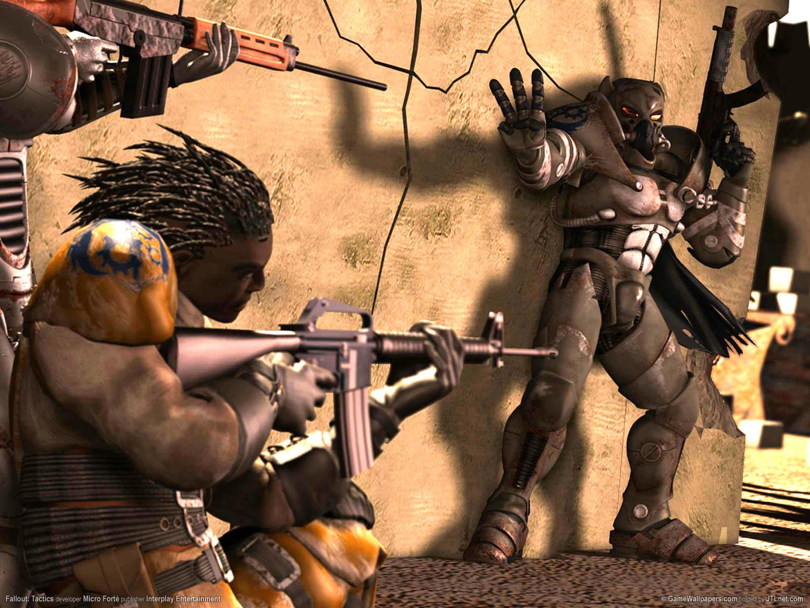 Fallout: Tactics Hintergrundbild 01 1600x1200