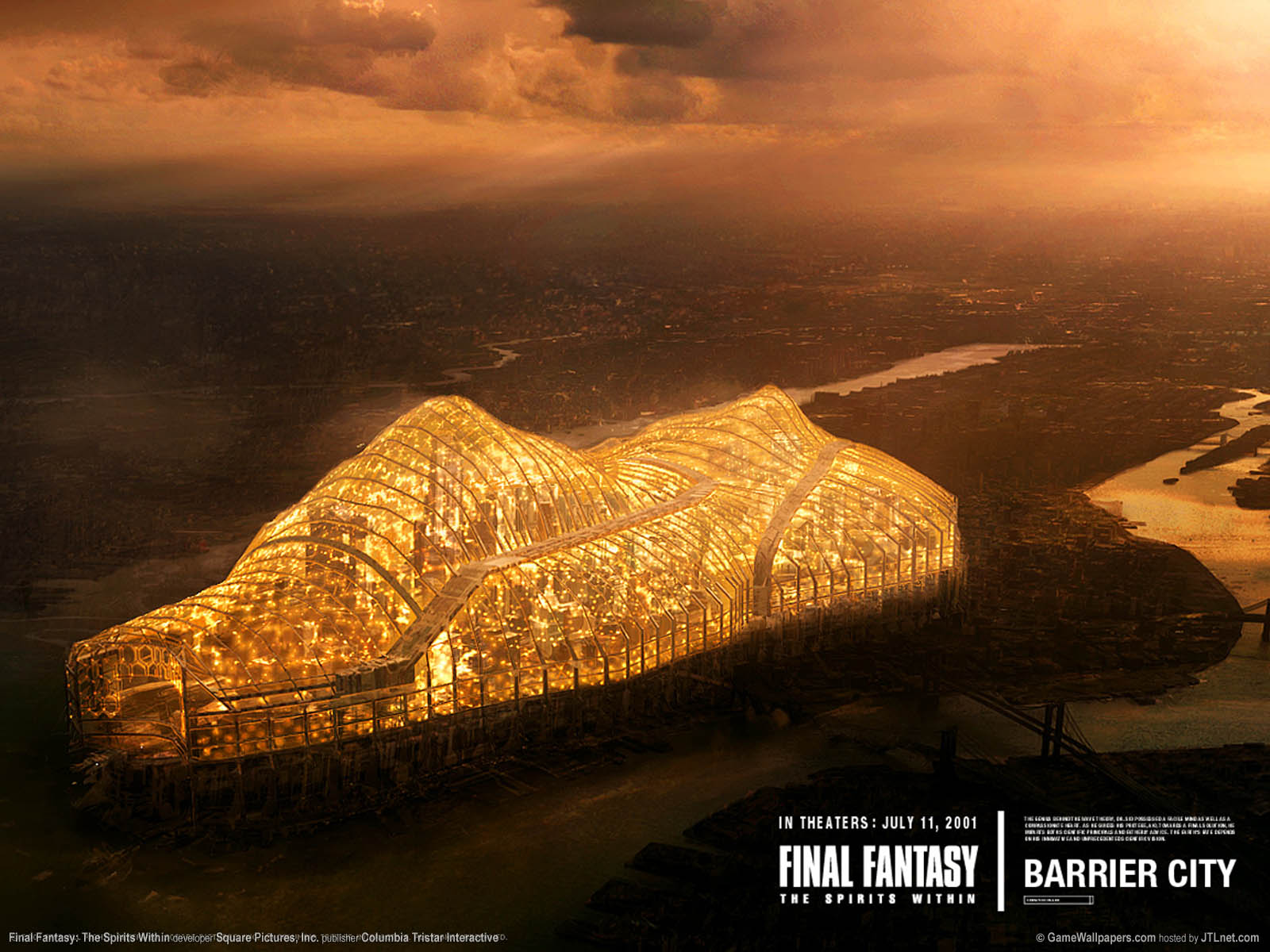 Final Fantasy: The Spirits Within achtergrond 04 1600x1200
