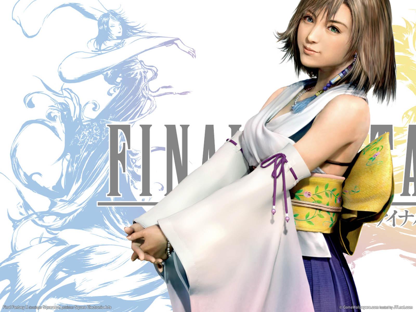 Final Fantasy Xνmmer=01 wallpaper  1600x1200