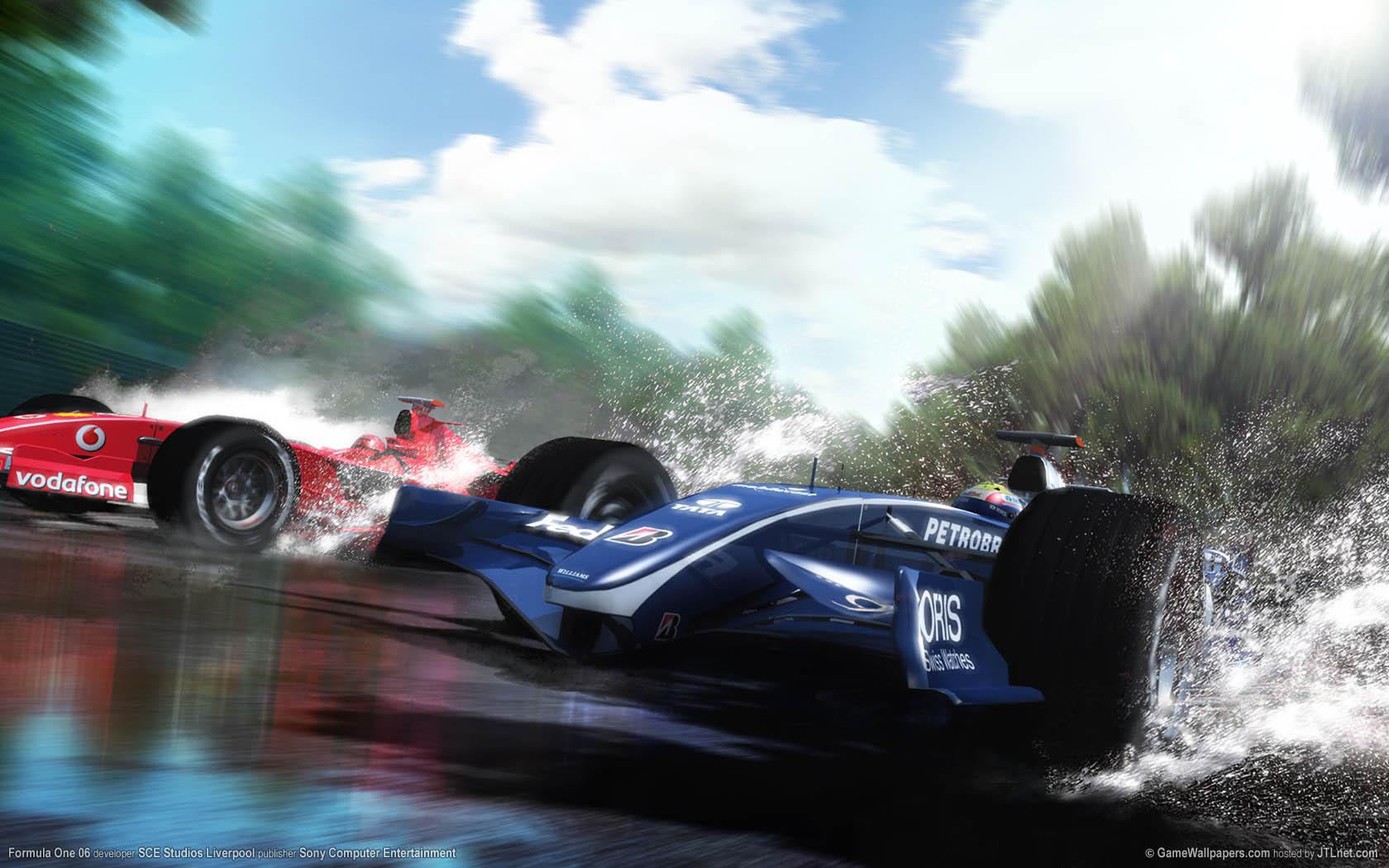 Formula One 06 Hintergrundbild 02 1680x1050