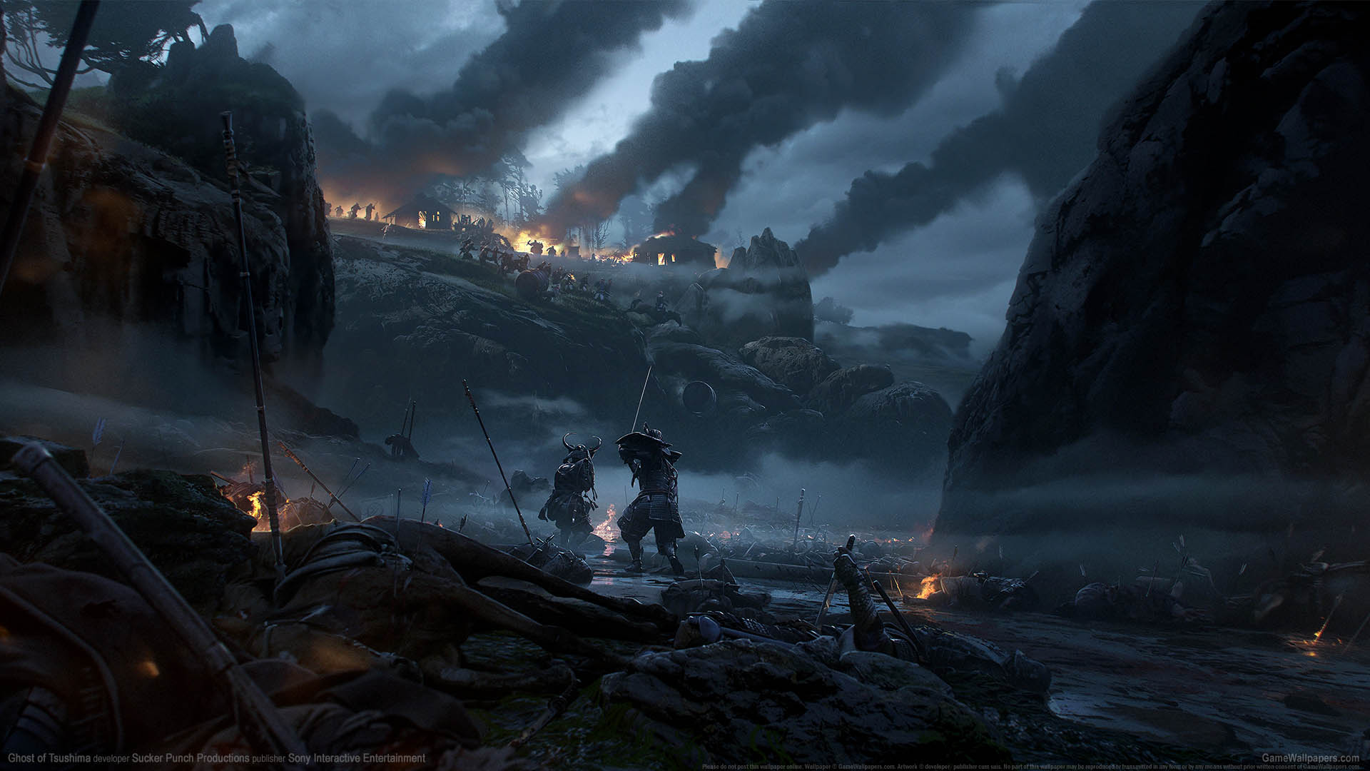 Ghost of Tsushima achtergrond 05 1920x1080