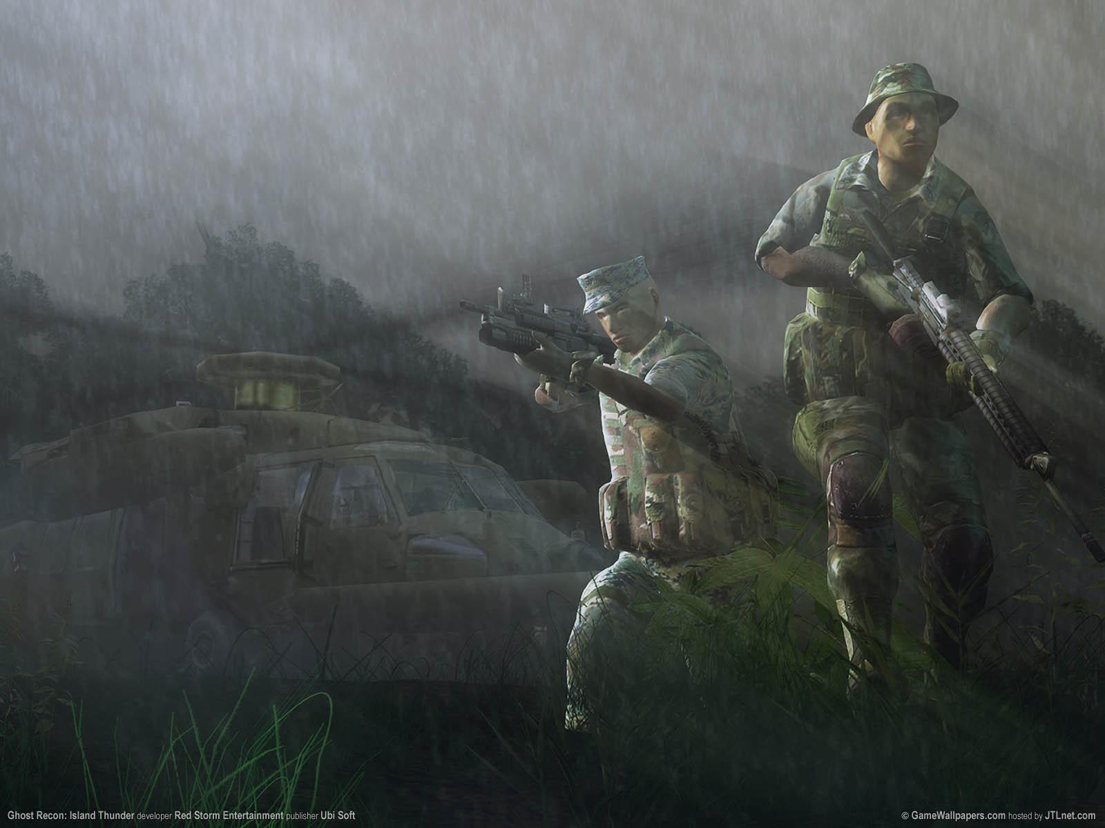 Ghost Recon: Island Thunderνmmer=03 Hintergrundbild  1600x1200