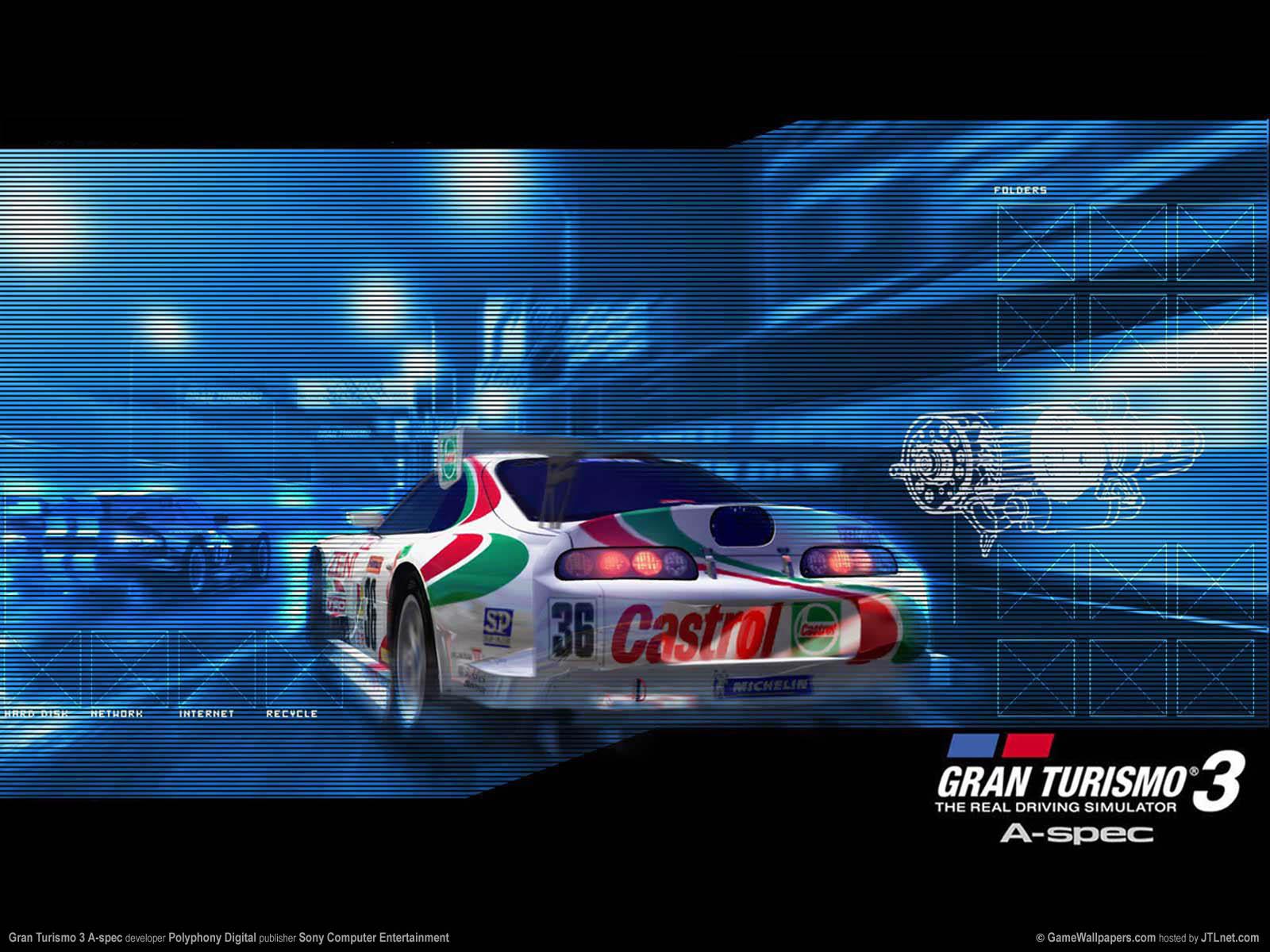 Gran Turismo 3 A-spec Hintergrundbild 01 1600x1200