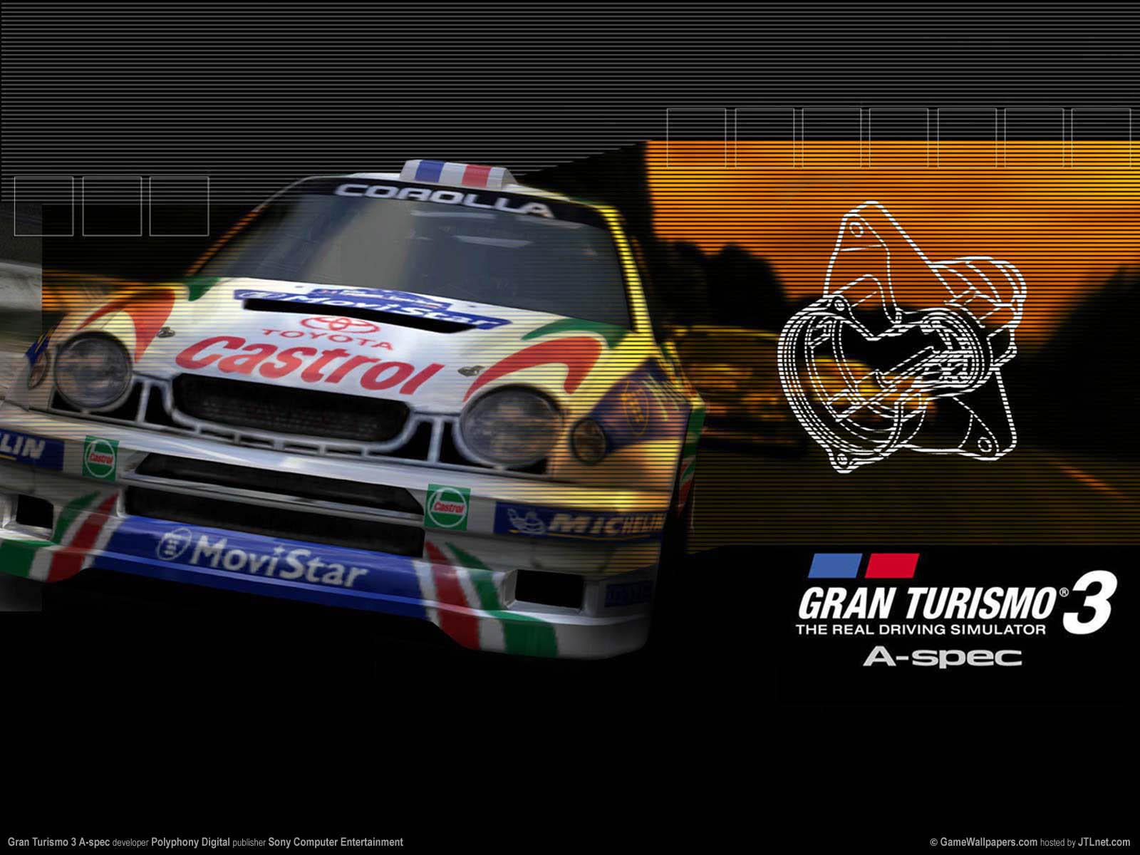Gran Turismo 3 A-spec Hintergrundbild 03 1600x1200