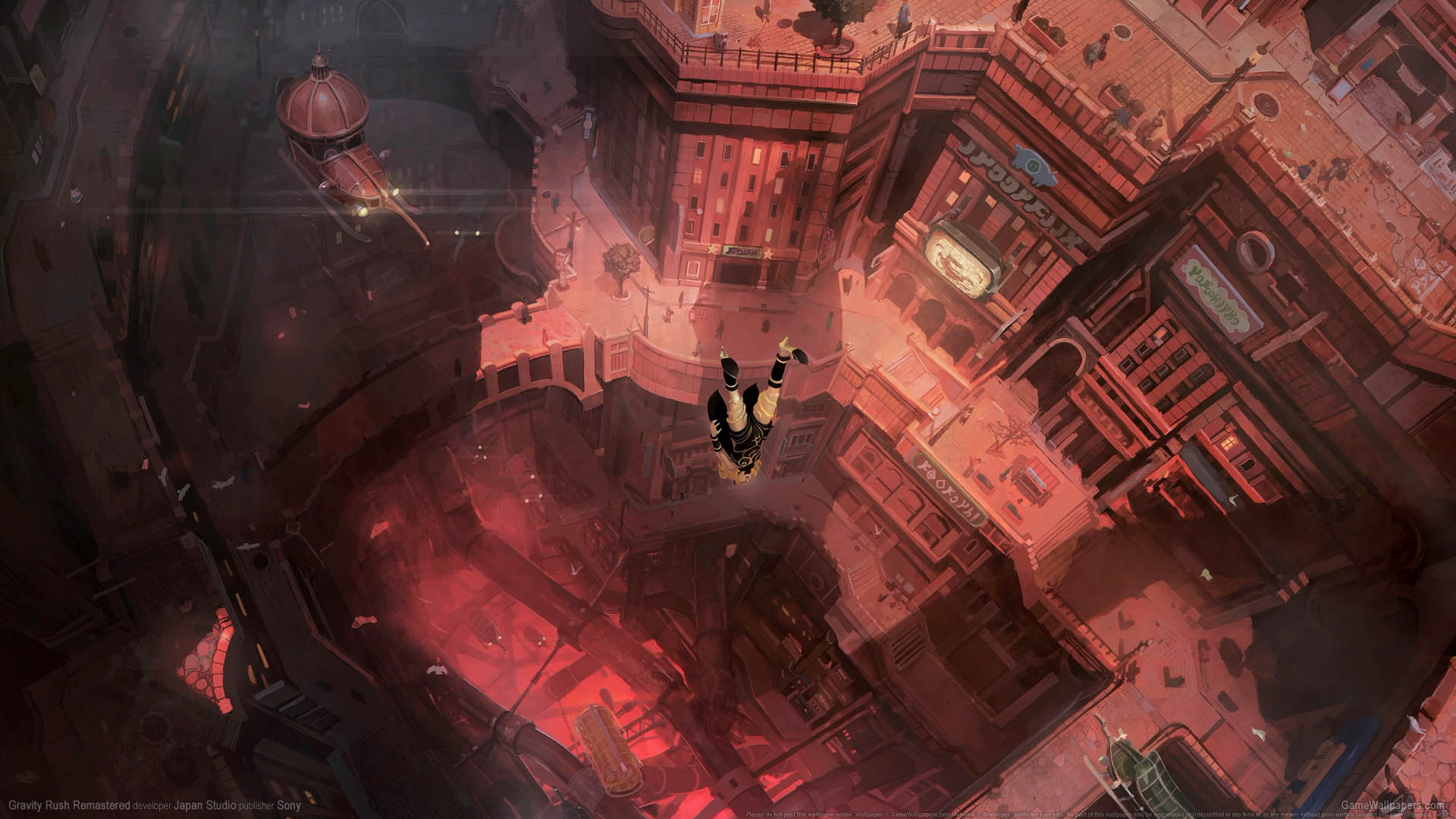 gravity rush iphone wallpaper